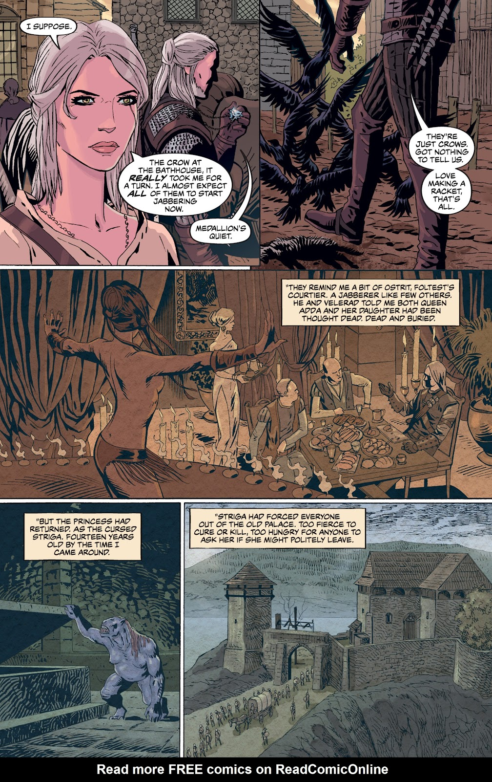 Read online The Witcher Omnibus comic -  Issue # TPB (Part 4) - 29