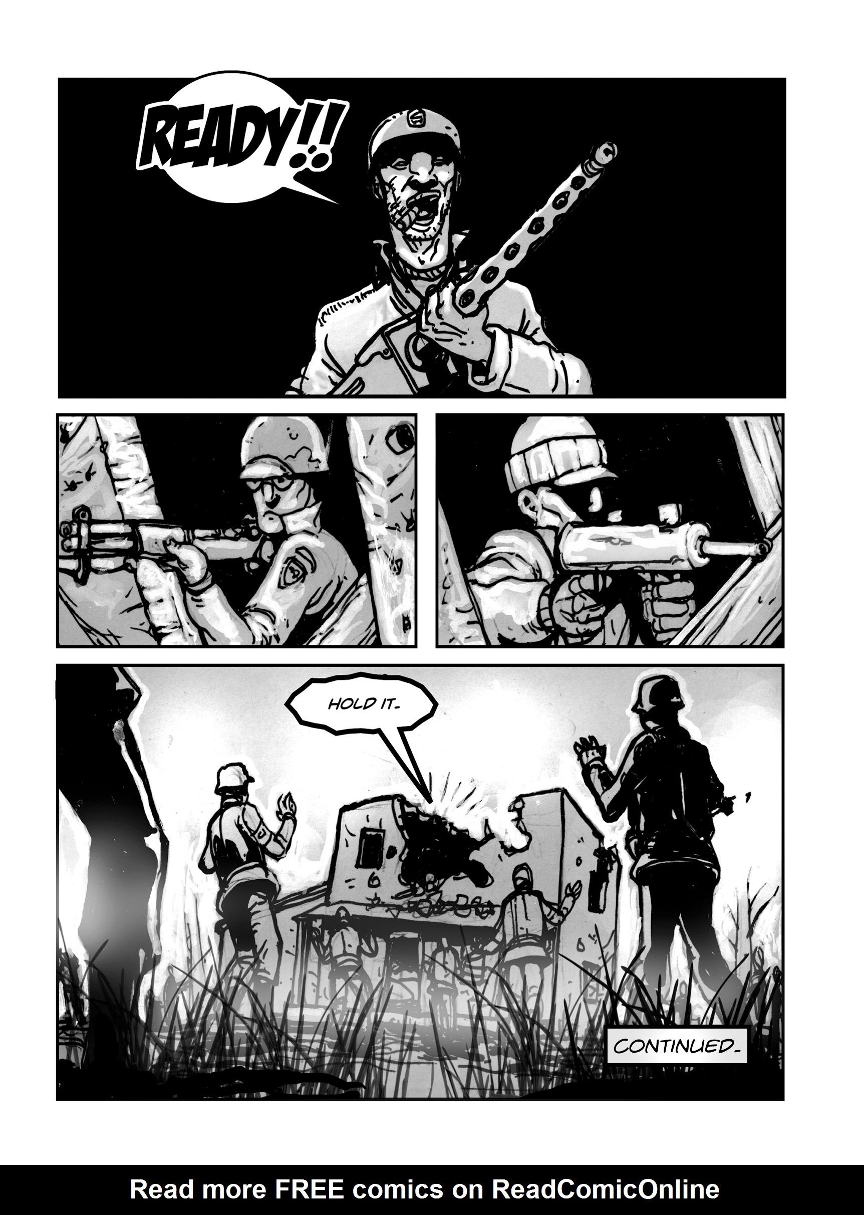Read online FUBAR comic -  Issue #1 - 45