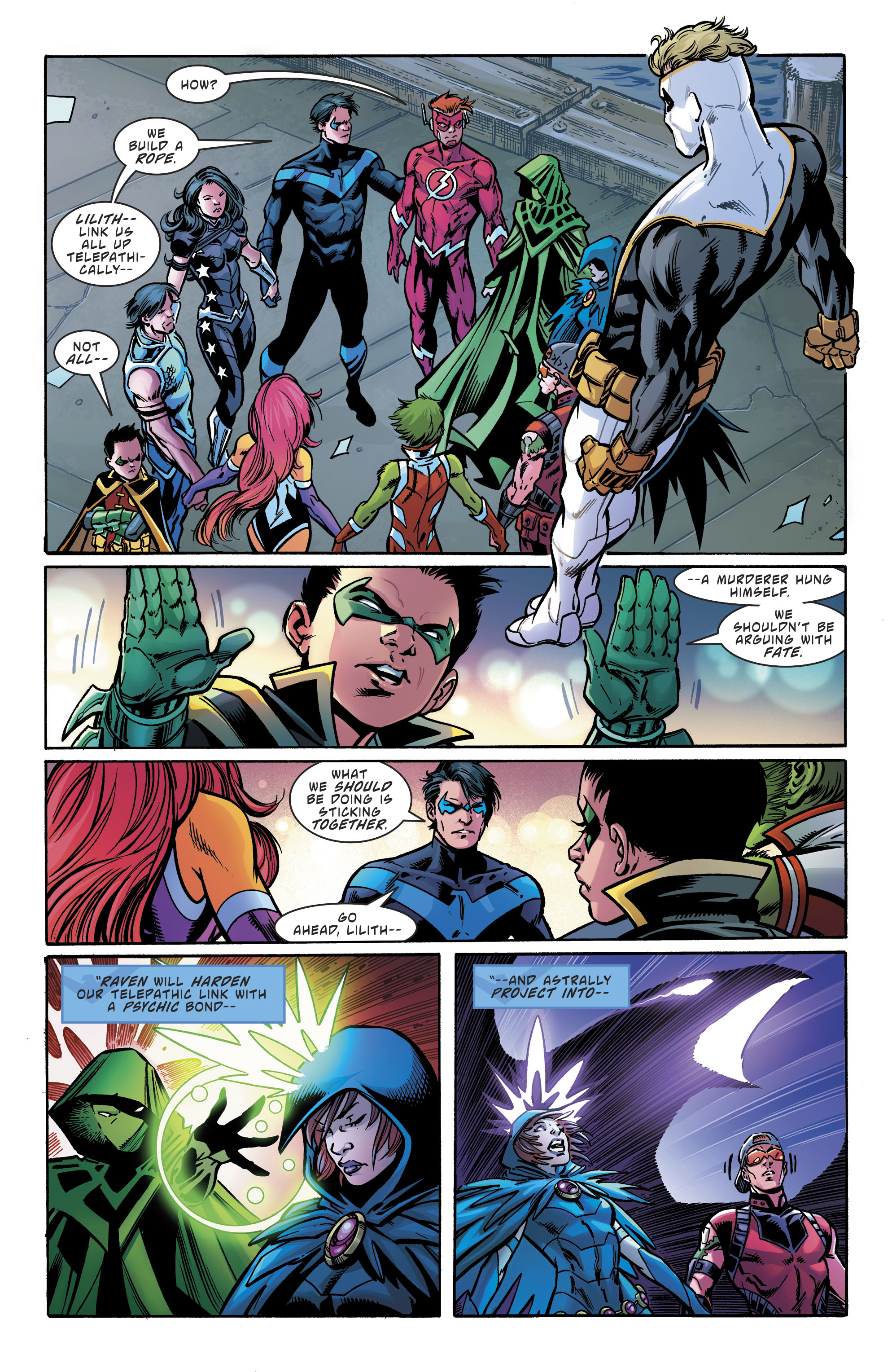 Read online Teen Titans (2016) comic -  Issue # Annual 1 - The Lazarus Contract Special 1 - 25