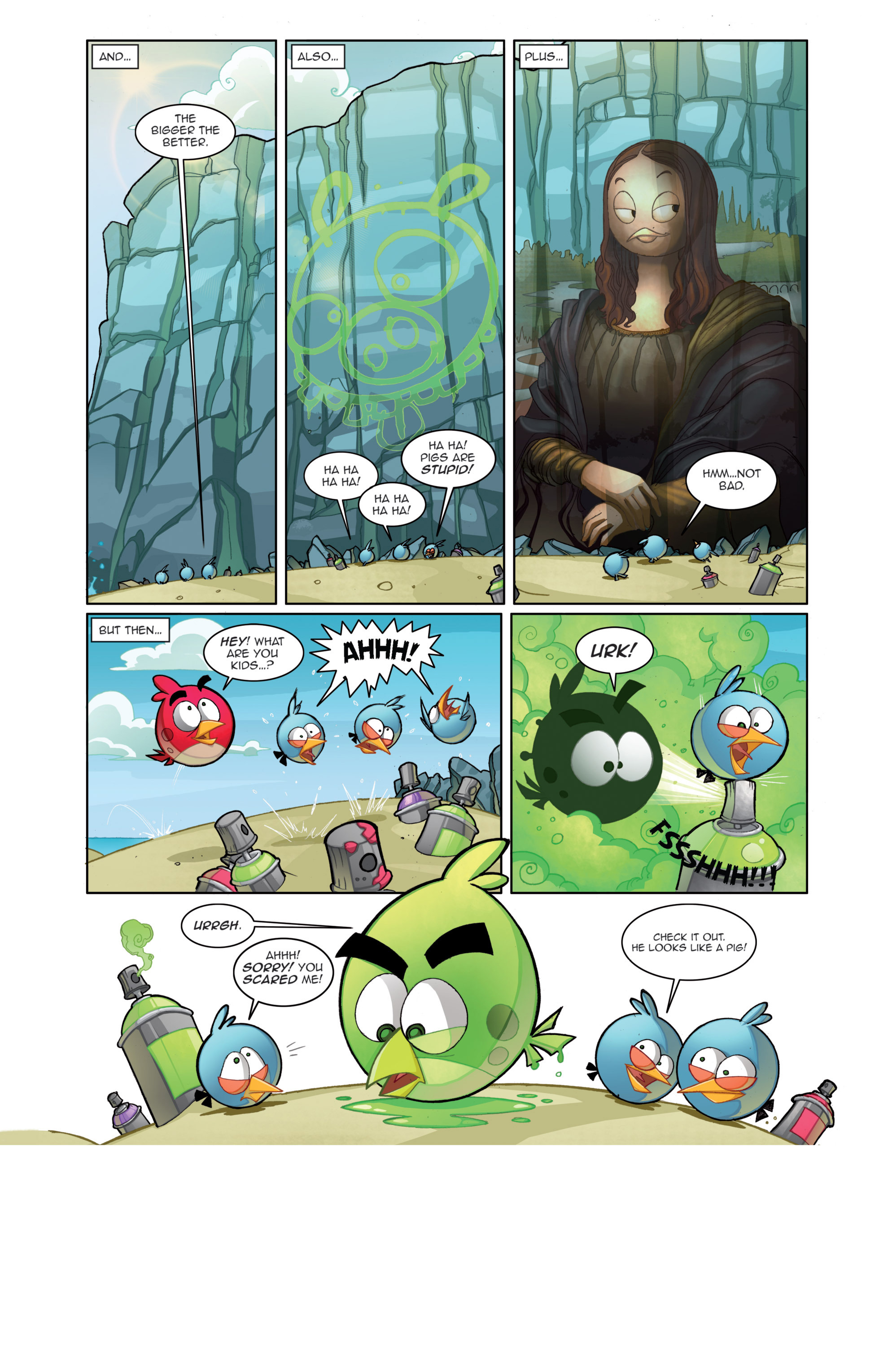 Read online Angry Birds Comics (2014) comic -  Issue #4 - 4