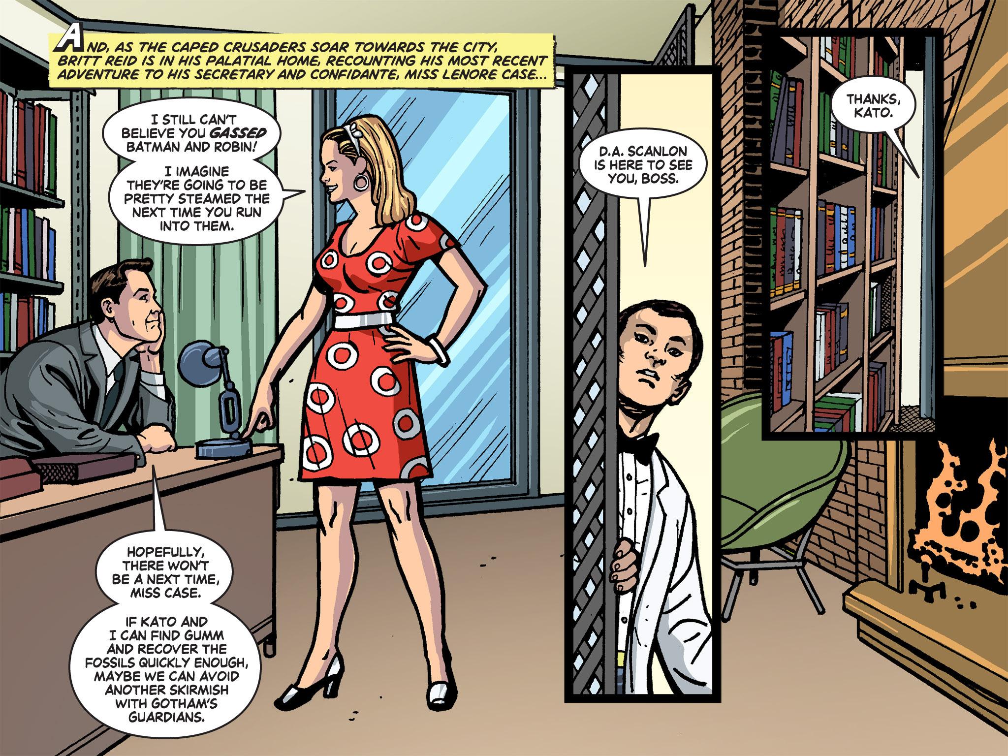 Read online Batman '66 Meets the Green Hornet [II] comic -  Issue #4 - 42