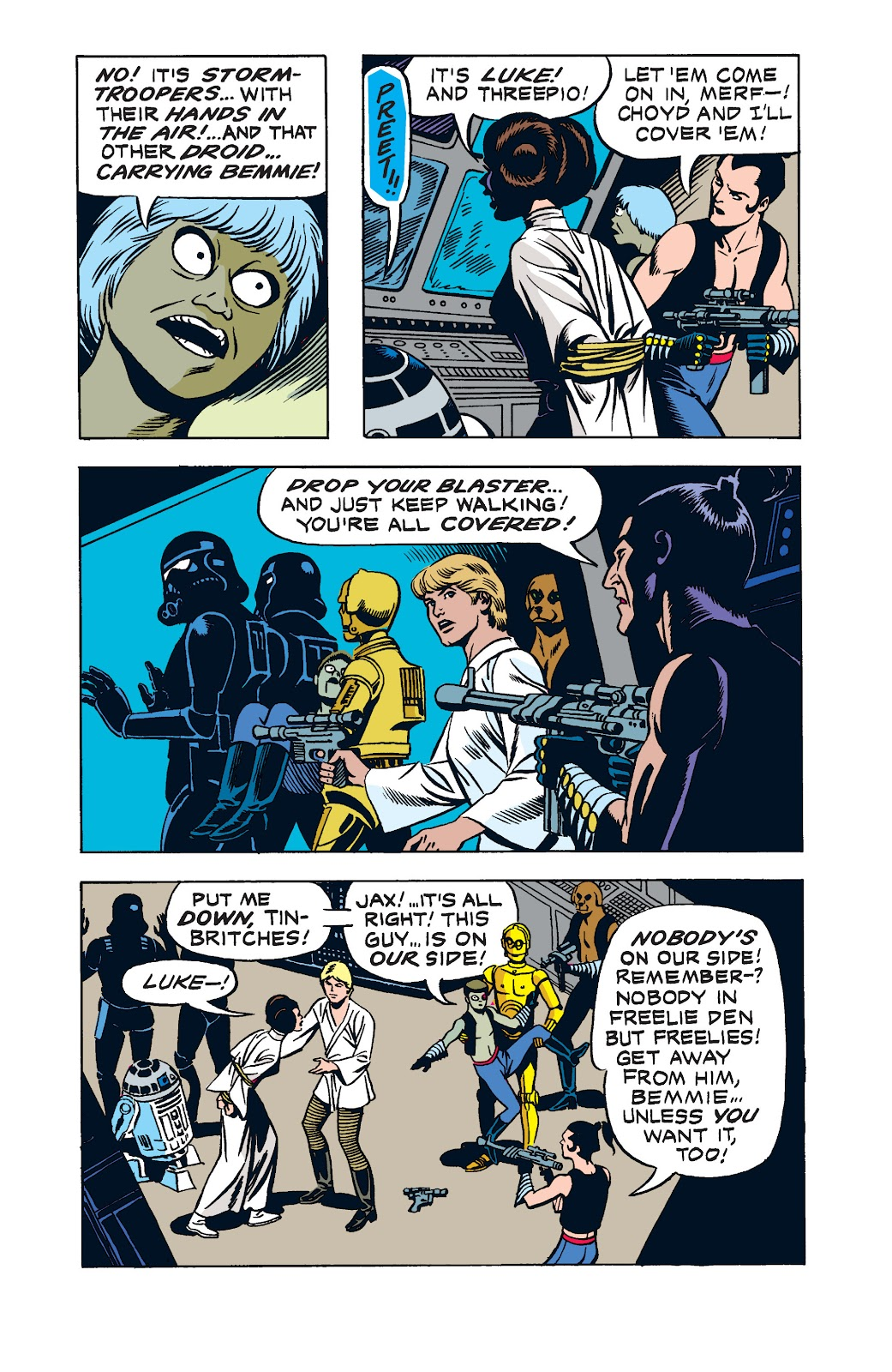 Read online Star Wars Legends: The Newspaper Strips - Epic Collection comic -  Issue # TPB (Part 2) - 13