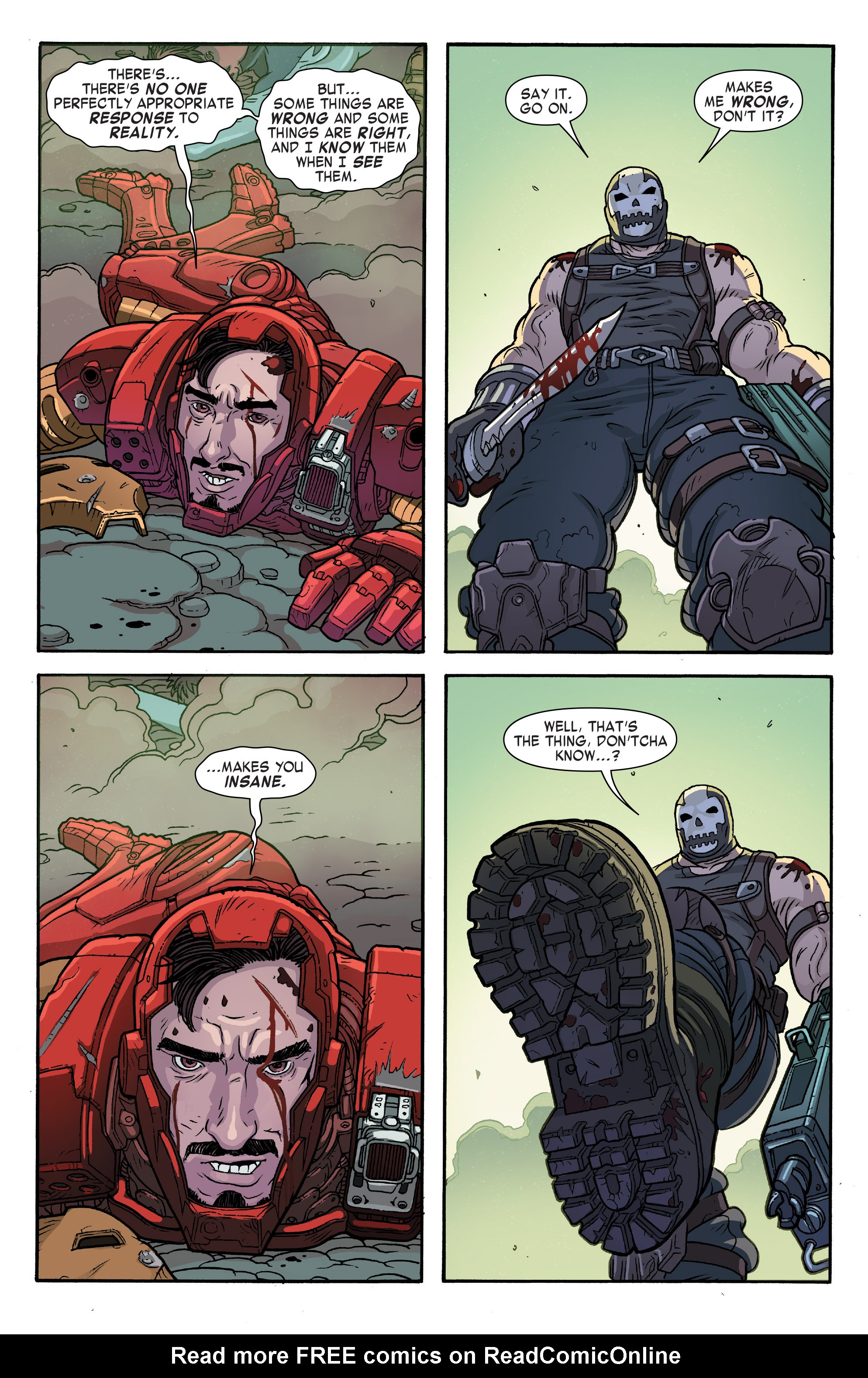 Bucky Barnes The Winter Soldier Issue 7 | Viewcomic reading