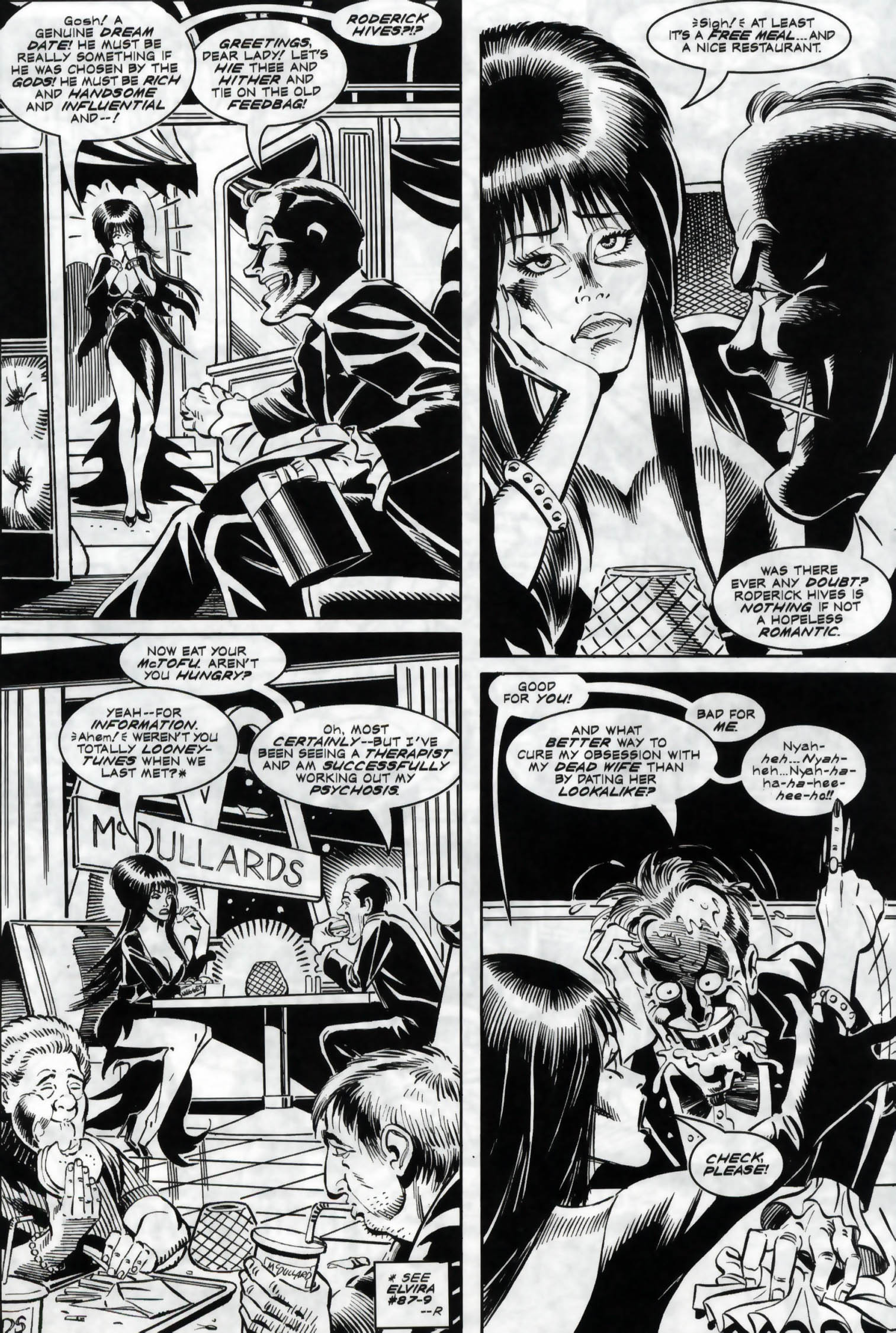 Read online Elvira, Mistress of the Dark comic -  Issue #118 - 10