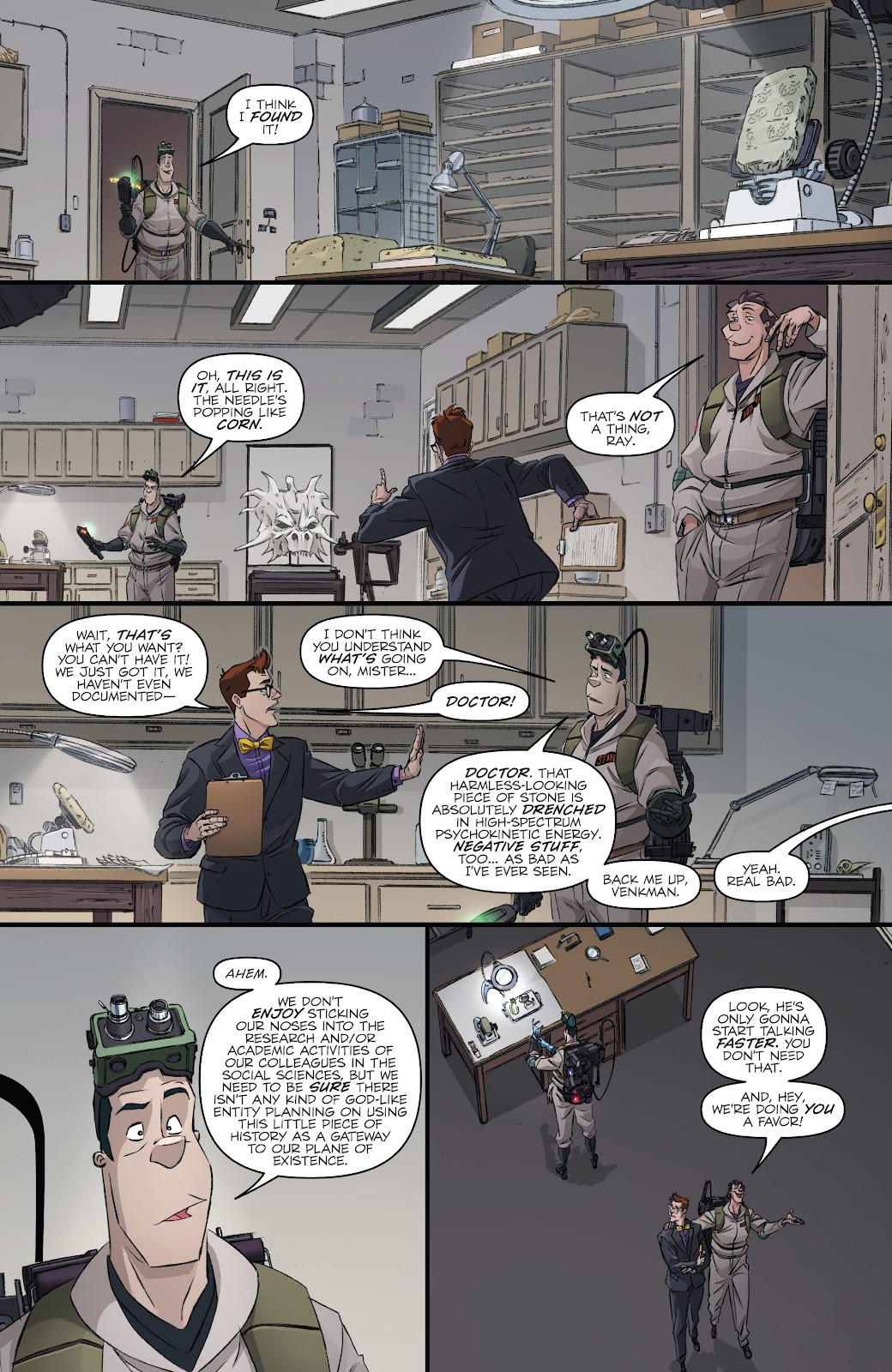 Read online Ghostbusters 35th Anniversary: Ghostbusters comic -  Issue # Full - 6