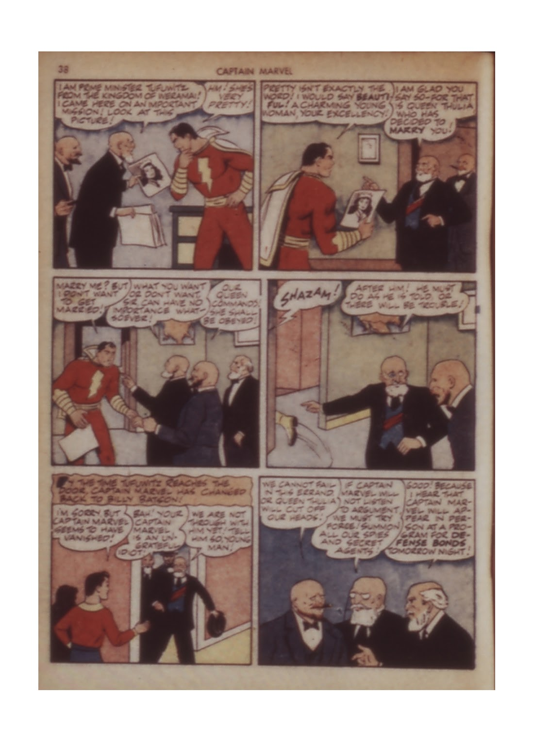 Captain Marvel Adventures issue 11 - Page 38
