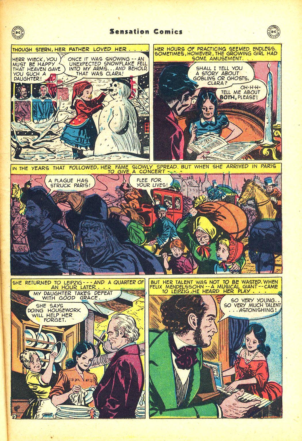 Read online Sensation (Mystery) Comics comic -  Issue #81 - 31