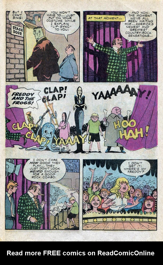 Read online Addams Family comic -  Issue #3 - 18