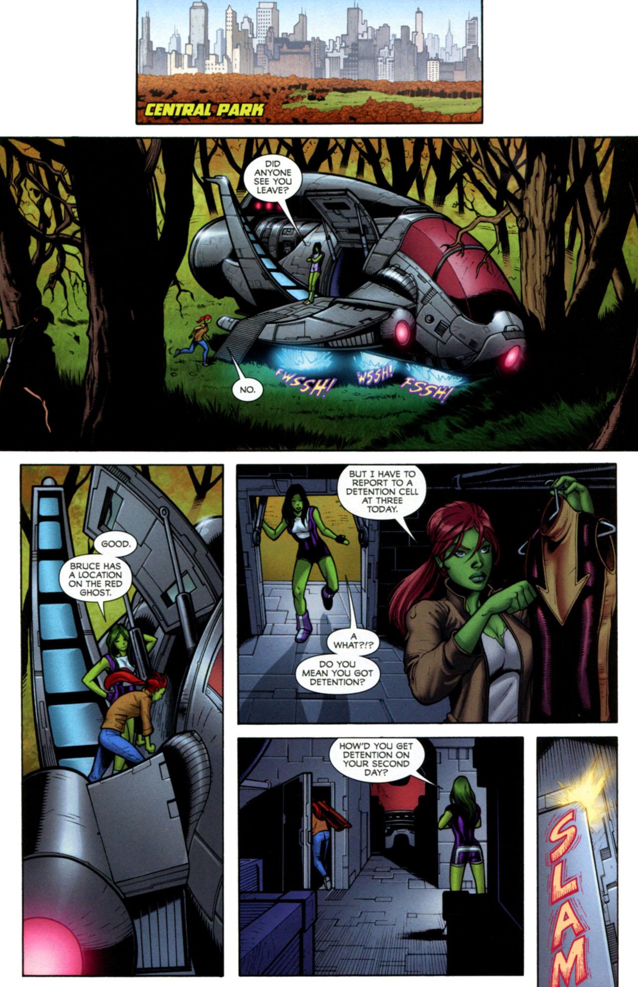 Read online She-Hulks comic -  Issue #2 - 15