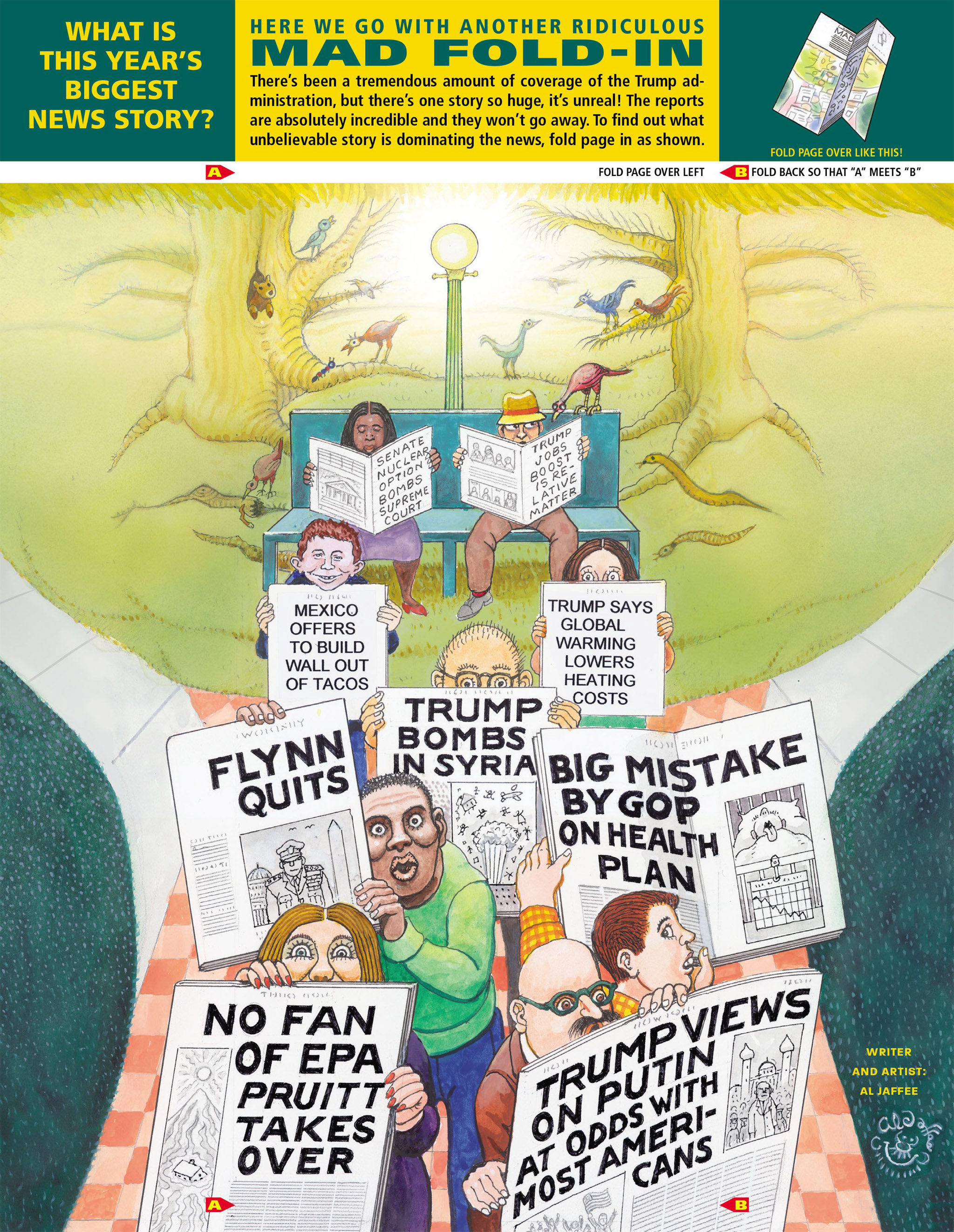 Read online MAD comic -  Issue #546 - 45