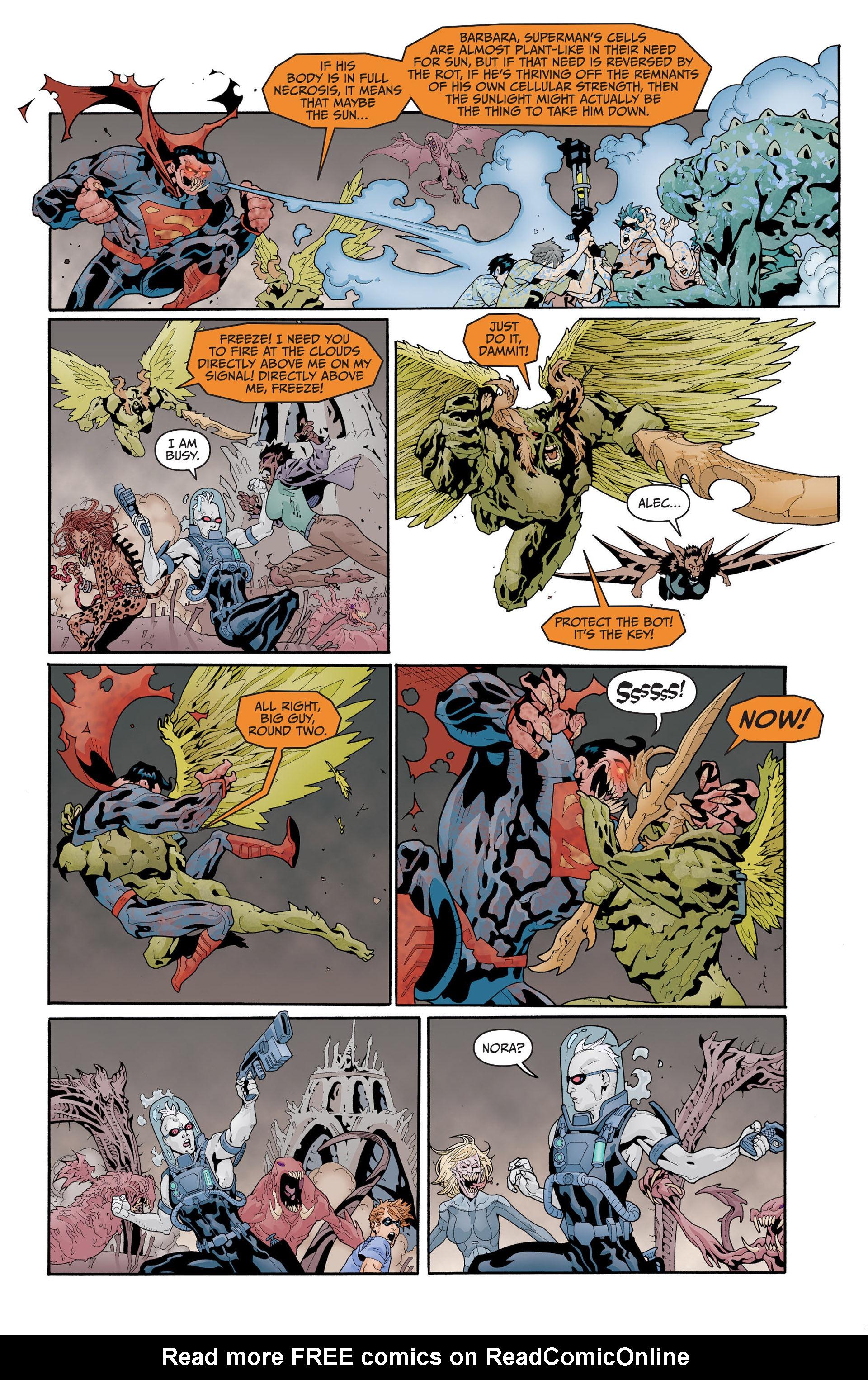 Read online Animal Man (2011) comic -  Issue #17 - 9