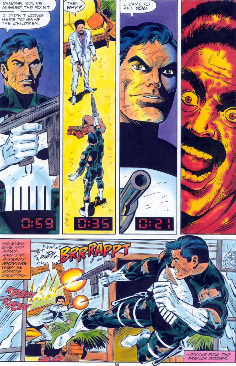 Read online Punisher Bloodlines comic -  Issue # Full - 56