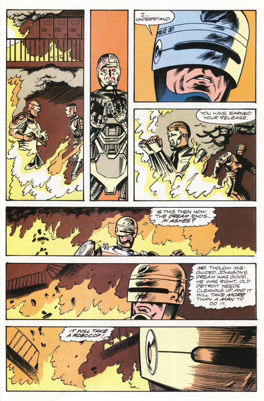 Read online Robocop (1990) comic -  Issue #15 - 21