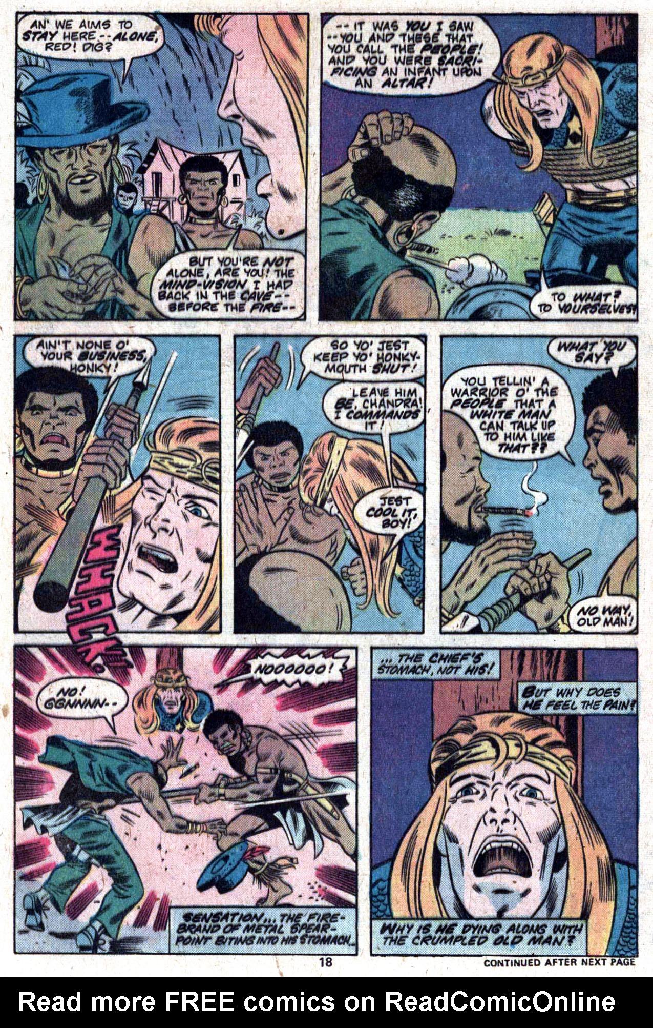 Read online Amazing Adventures (1970) comic -  Issue #33 - 19