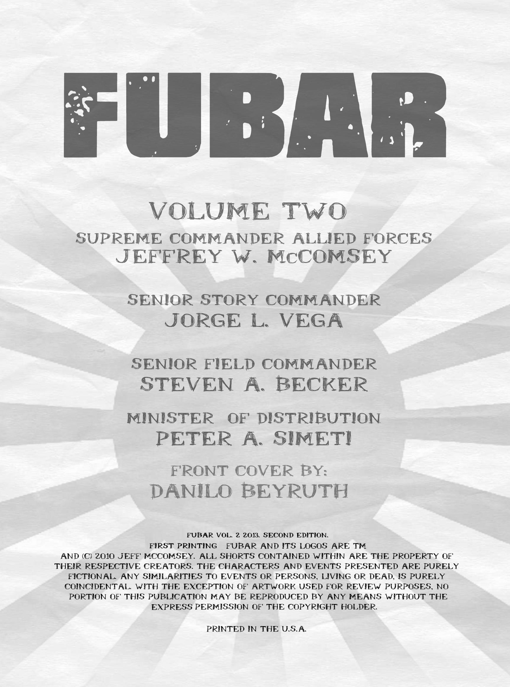 Read online FUBAR comic -  Issue #2 - 3