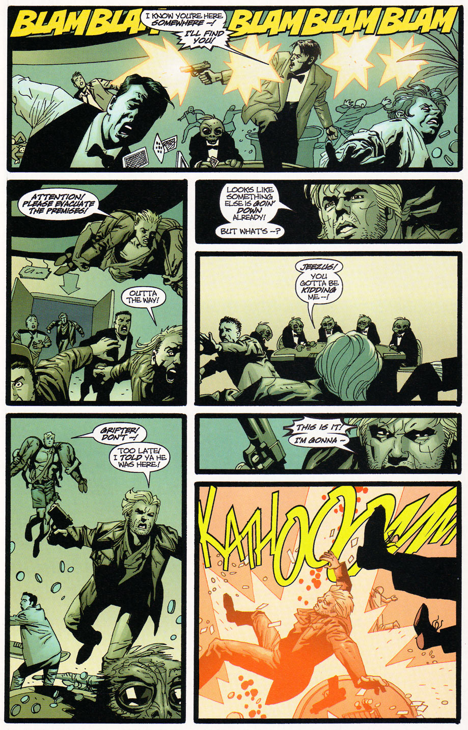 Wildcats (1999) Issue #9 #10 - English 21