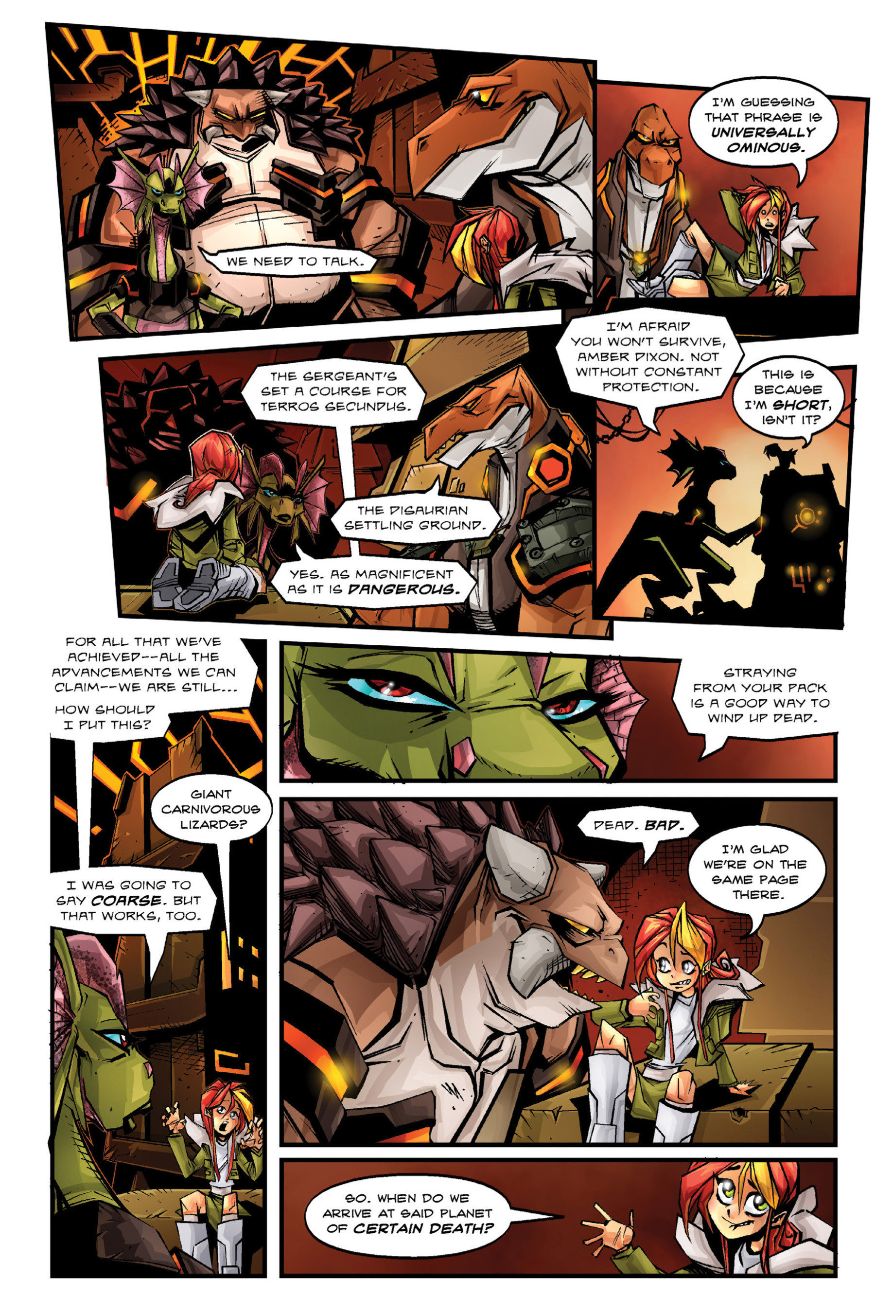 Read online Rexodus comic -  Issue # Full - 45