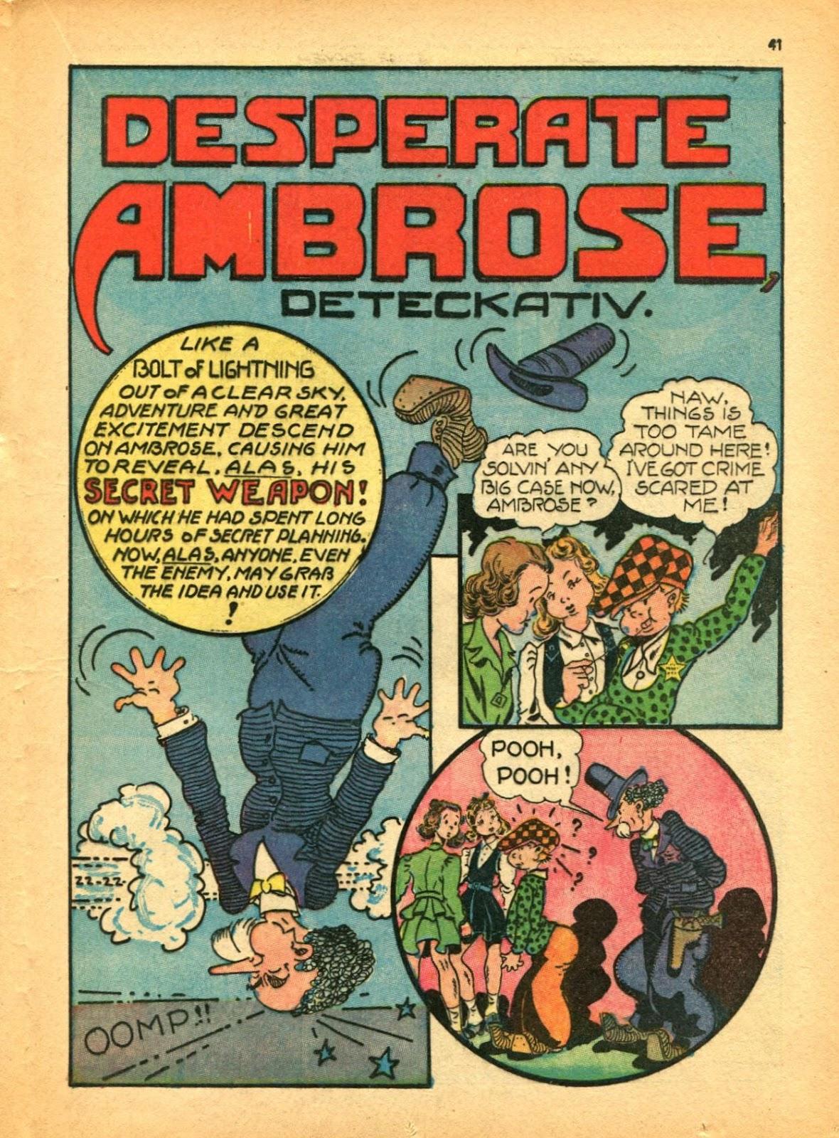 Read online Super-Magician Comics comic -  Issue #12 - 41