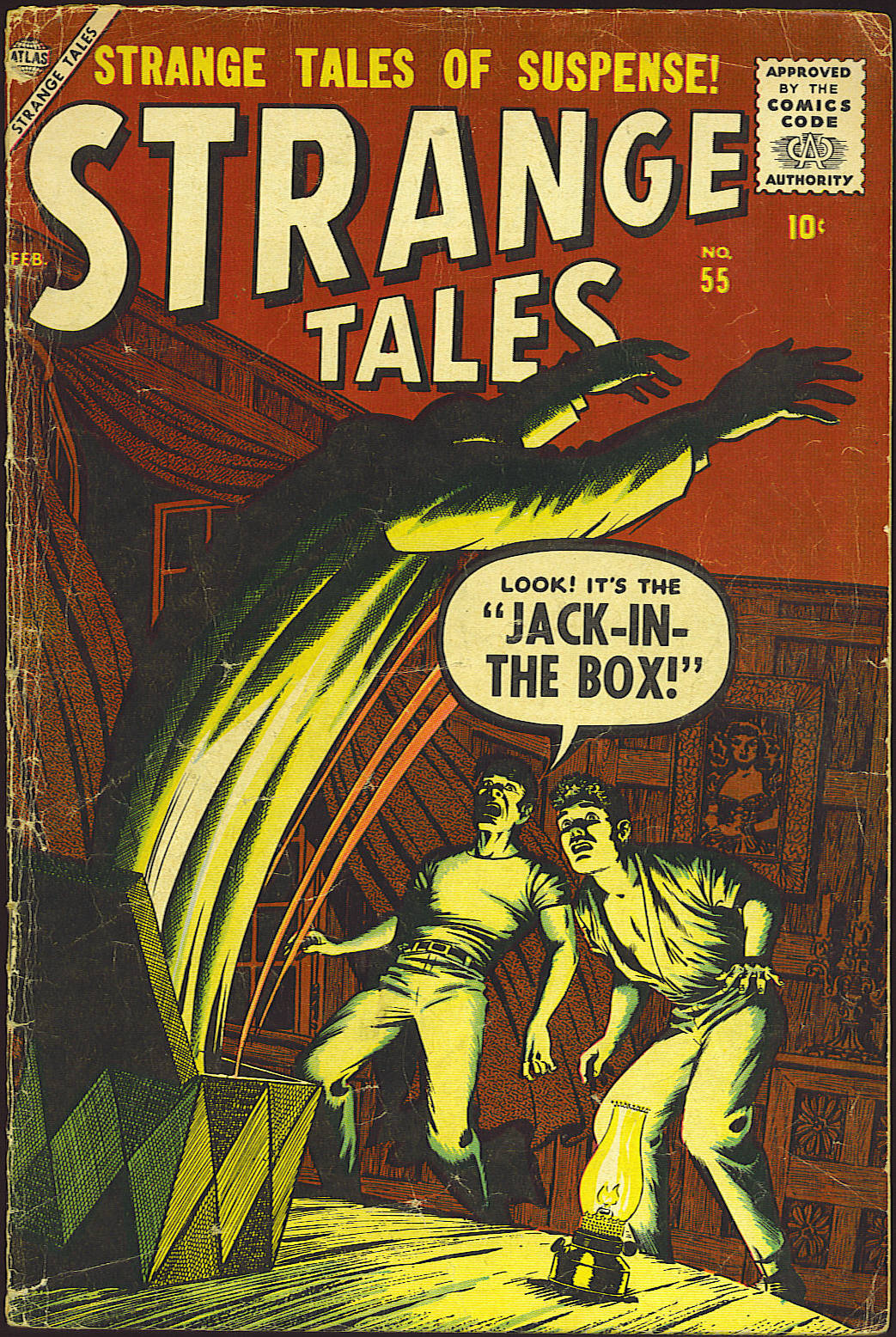 Strange Tales (1951) issue 55 - Page 1