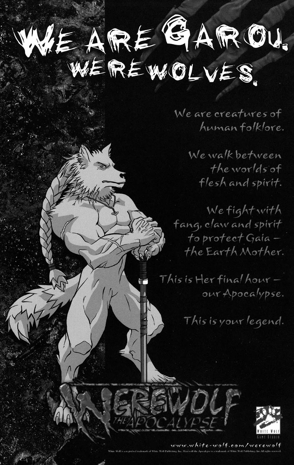Read online Werewolf the Apocalypse comic -  Issue # Black Furies - 51