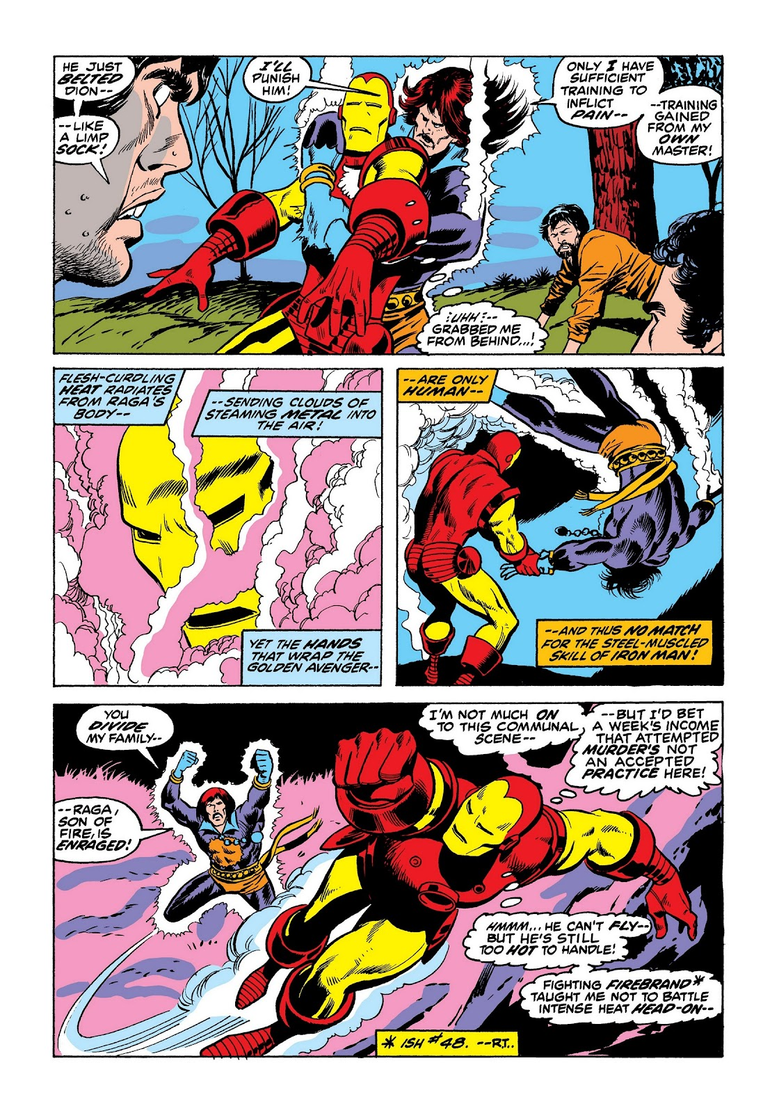Read online Marvel Masterworks: The Invincible Iron Man comic -  Issue # TPB 8 (Part 3) - 90