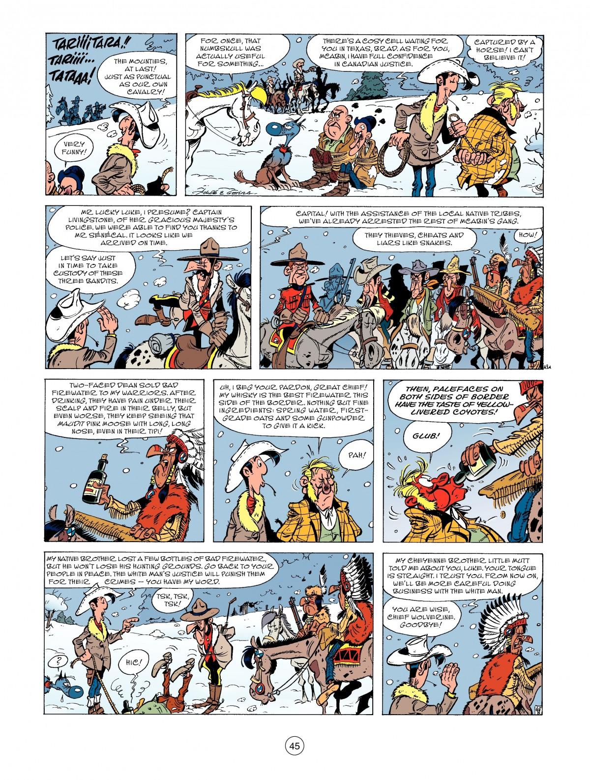 Read online A Lucky Luke Adventure comic -  Issue #52 - 47