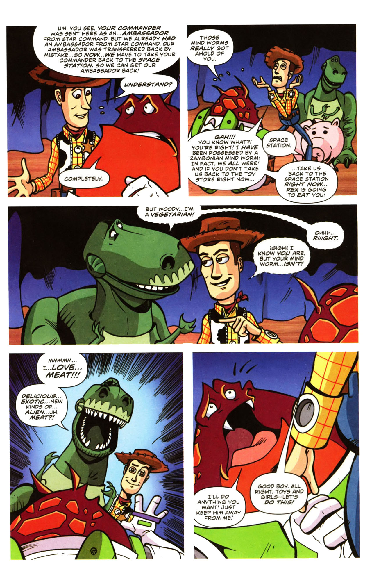 Read online Toy Story (2009) comic -  Issue #1 - 7
