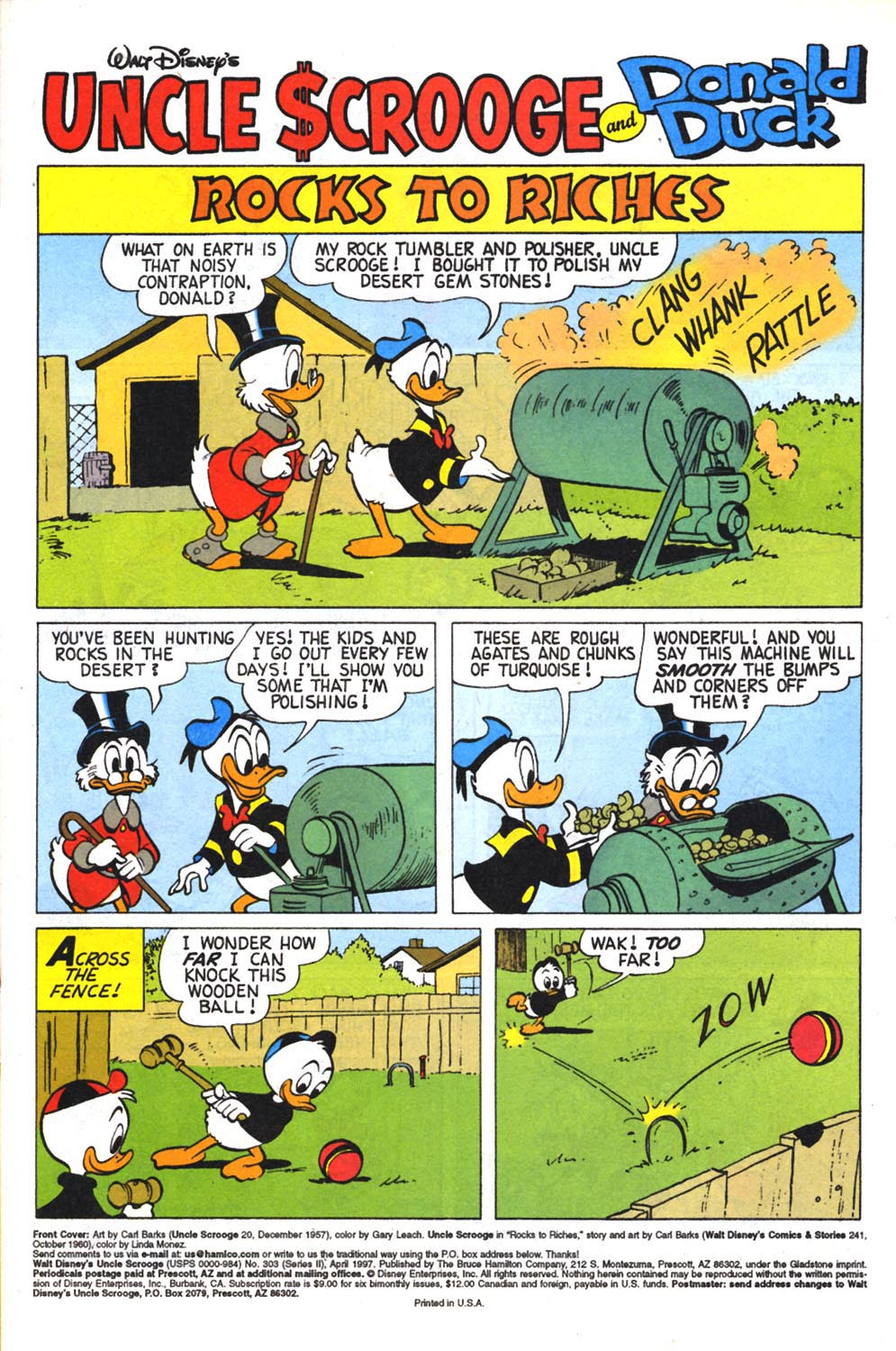Read online Uncle Scrooge (1953) comic -  Issue #303 - 3