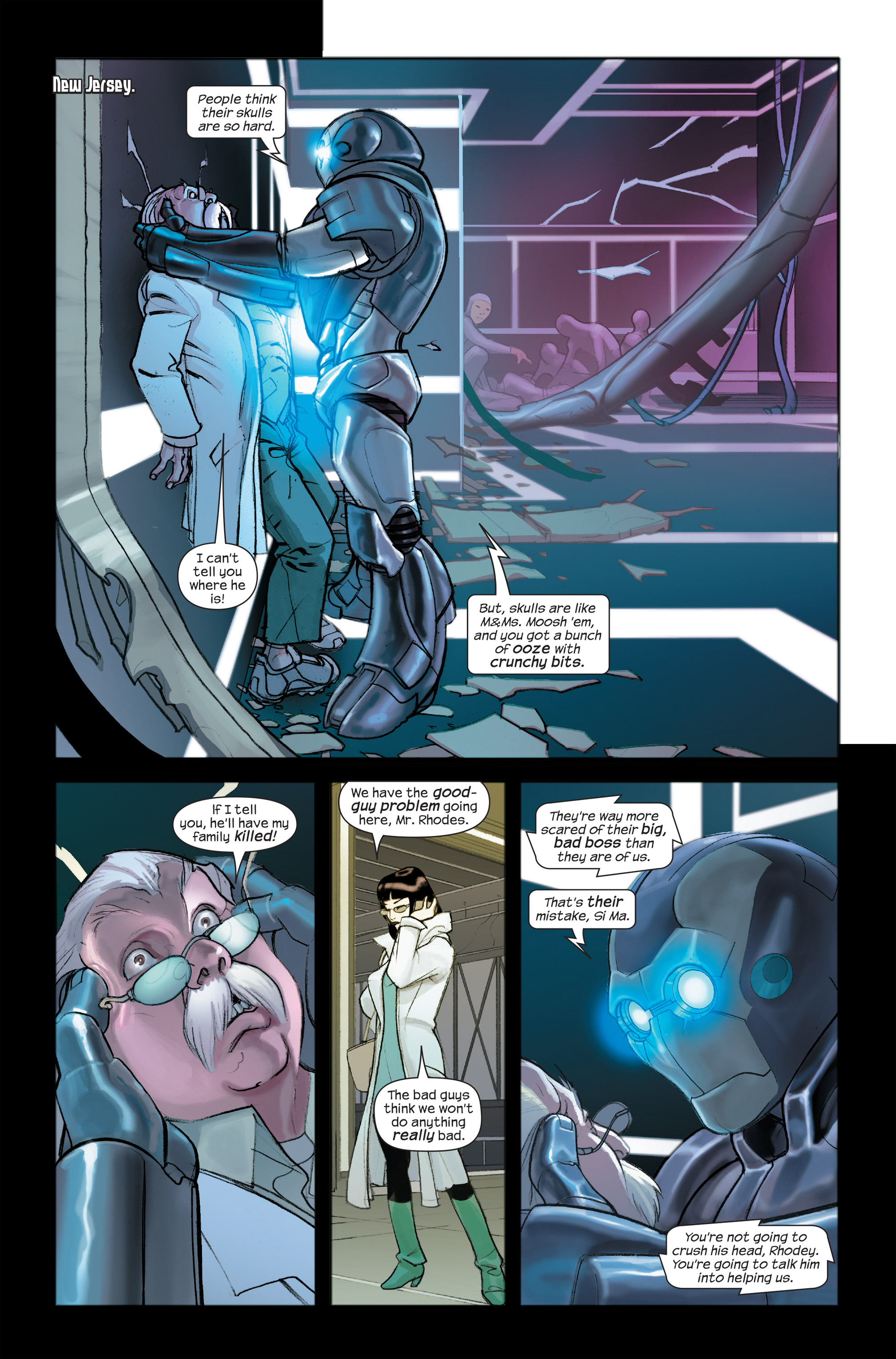 Read online Ultimate Iron Man II comic -  Issue #4 - 5