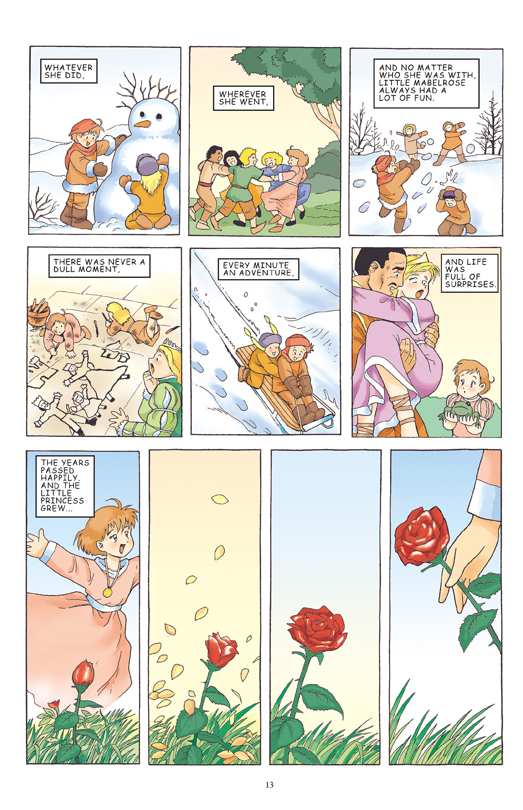 Read online Courageous Princess comic -  Issue # TPB 1 - 14
