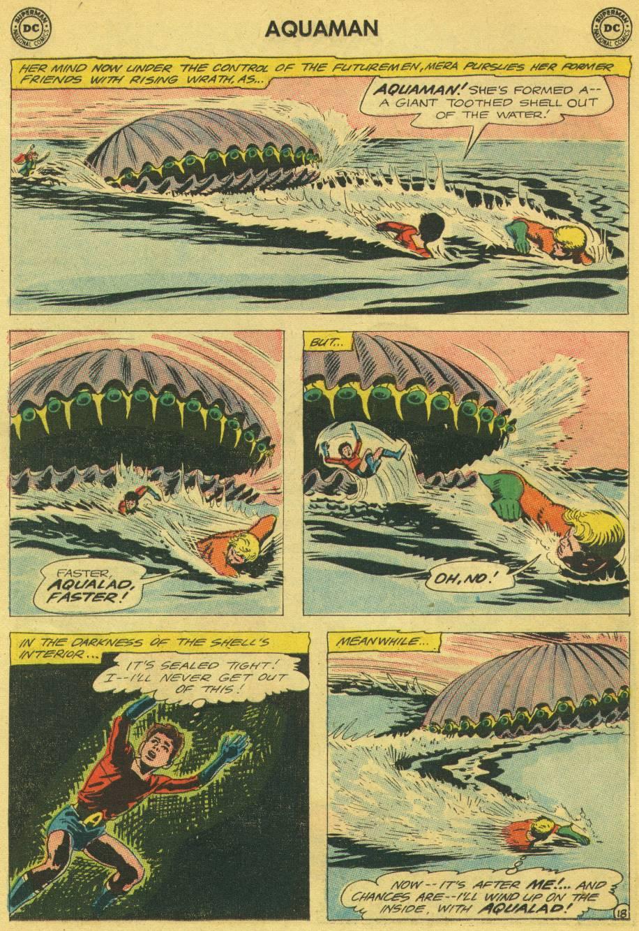 Read online Aquaman (1962) comic -  Issue #13 - 25