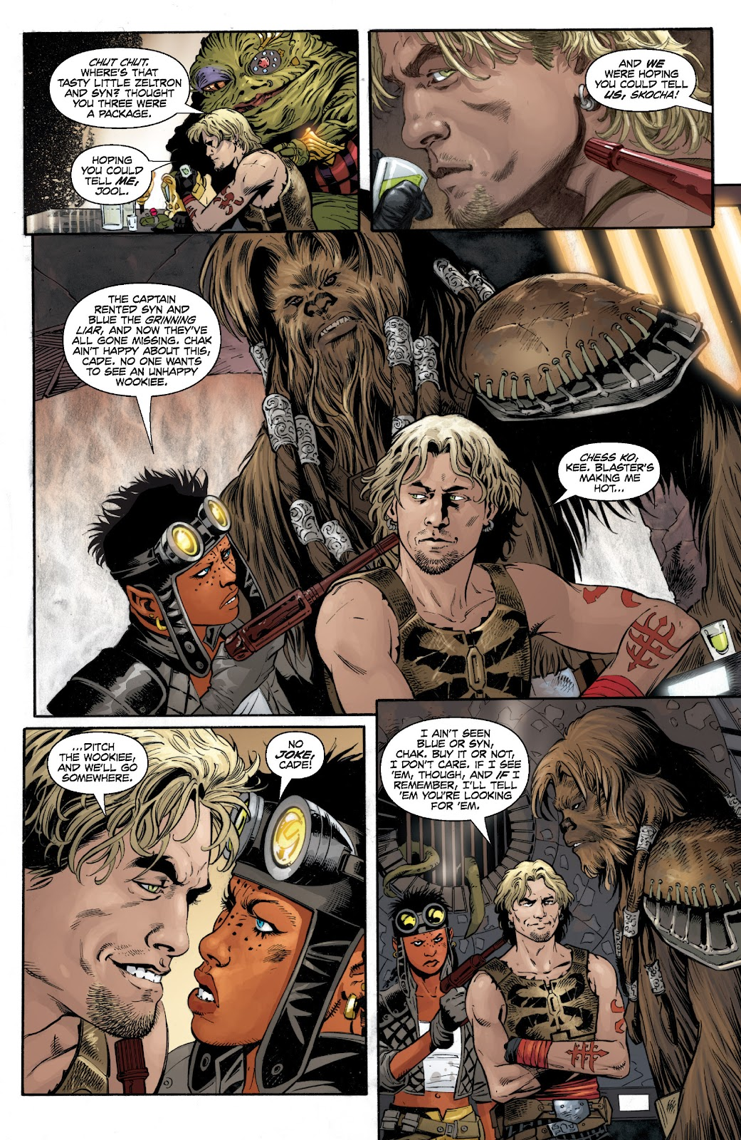 Read online Star Wars Legends: Legacy - Epic Collection comic -  Issue # TPB 1 (Part 4) - 29