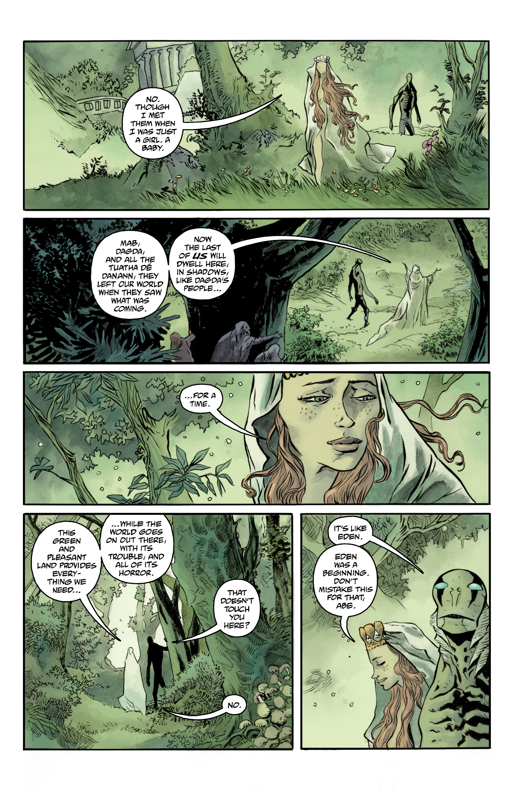 Read online Abe Sapien comic -  Issue #35 - 15