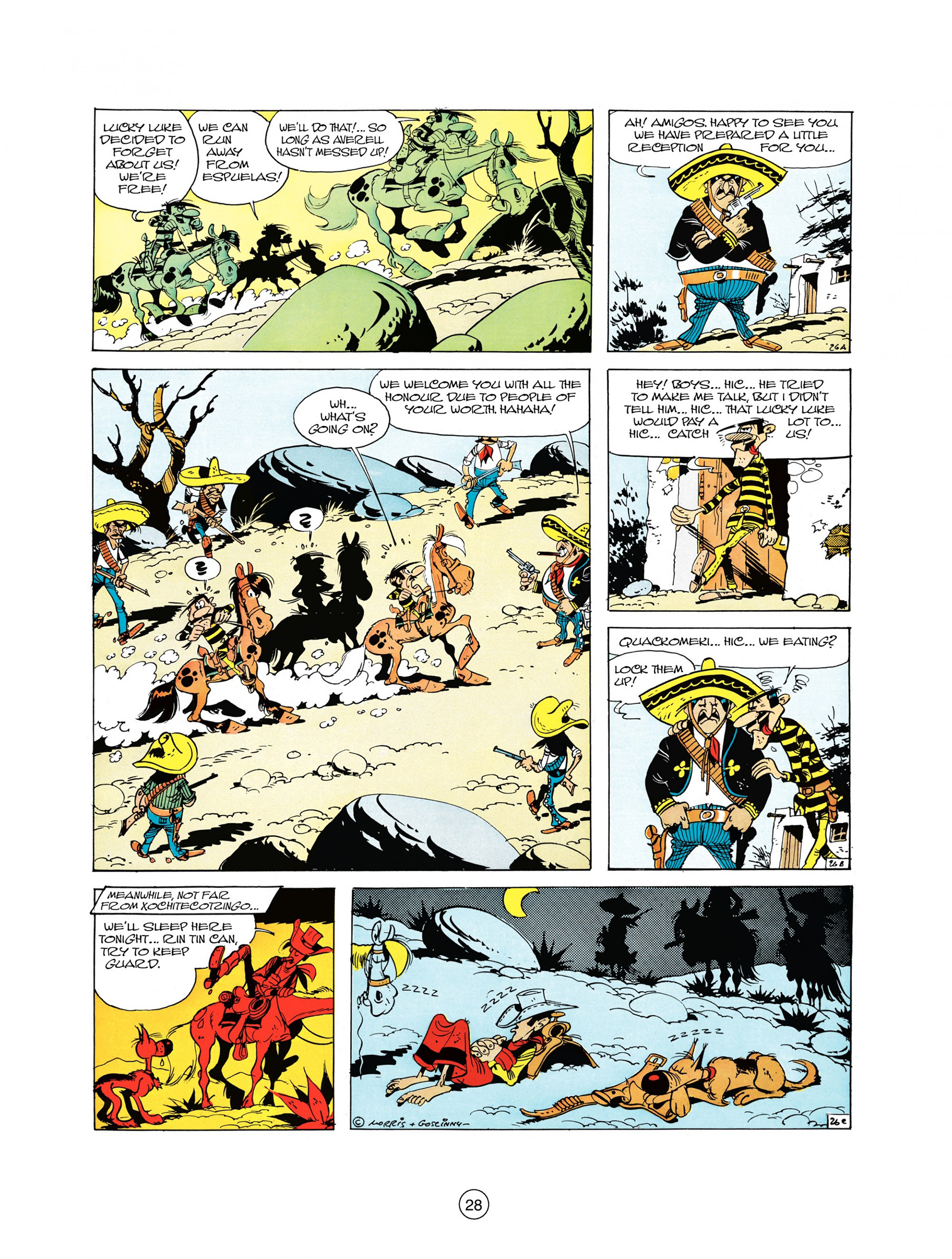 Read online A Lucky Luke Adventure comic -  Issue #10 - 28