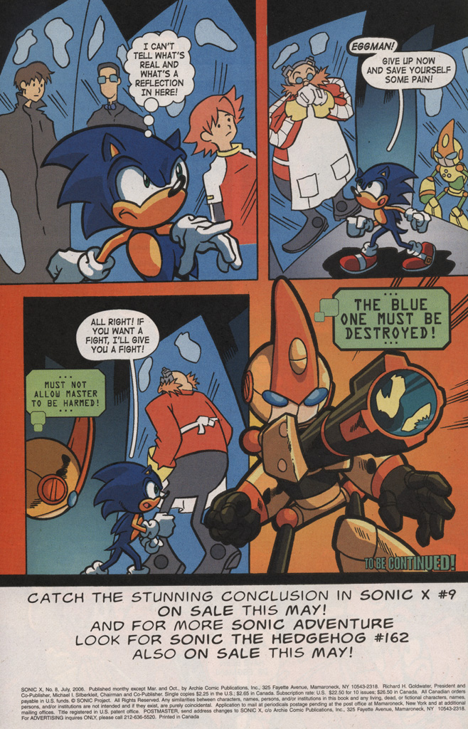 Read online Sonic X comic -  Issue #8 - 34