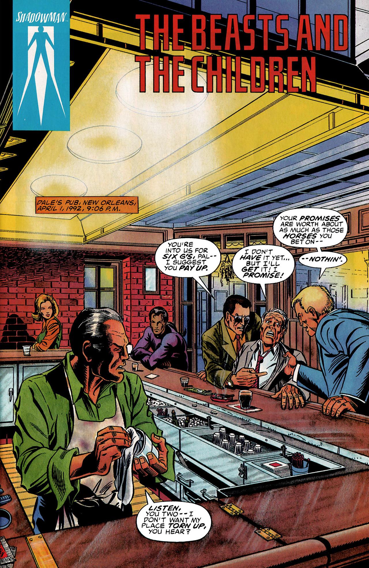 Read online Shadowman (1992) comic -  Issue #3 - 2