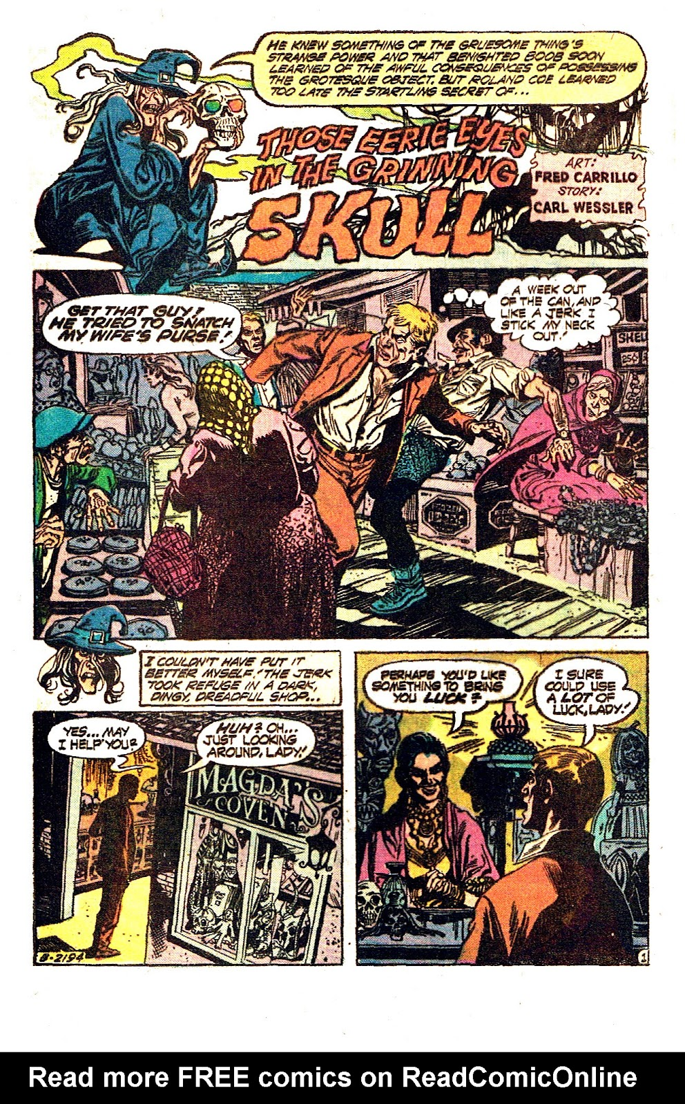 The Witching Hour (1969) issue 50 - Page 4