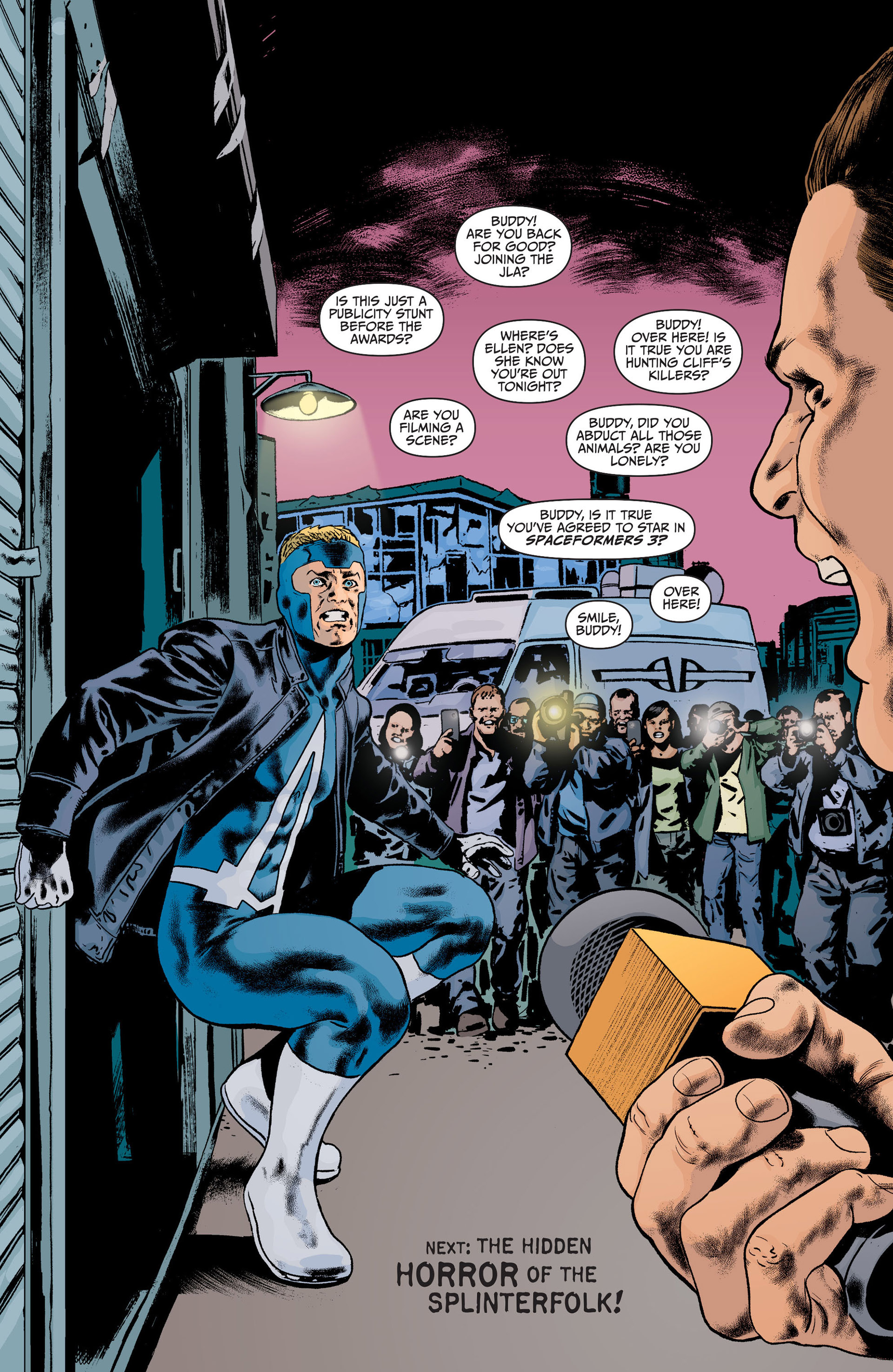 Read online Animal Man (2011) comic -  Issue #21 - 18