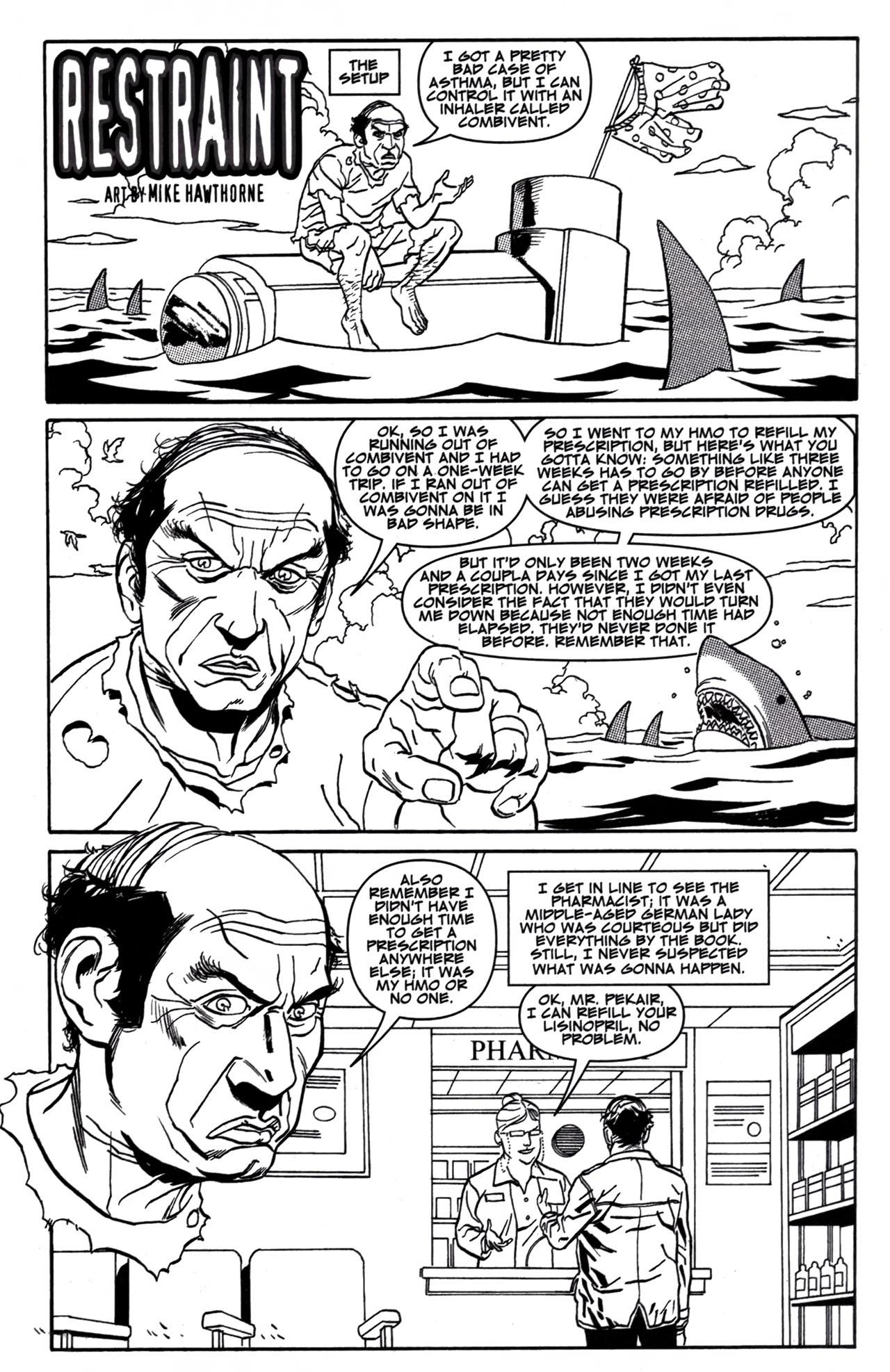 Read online American Splendor (2008) comic -  Issue #1 - 12