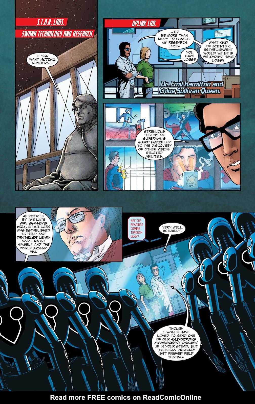 Read online Smallville Season 11 [II] comic -  Issue # TPB 1 - 43