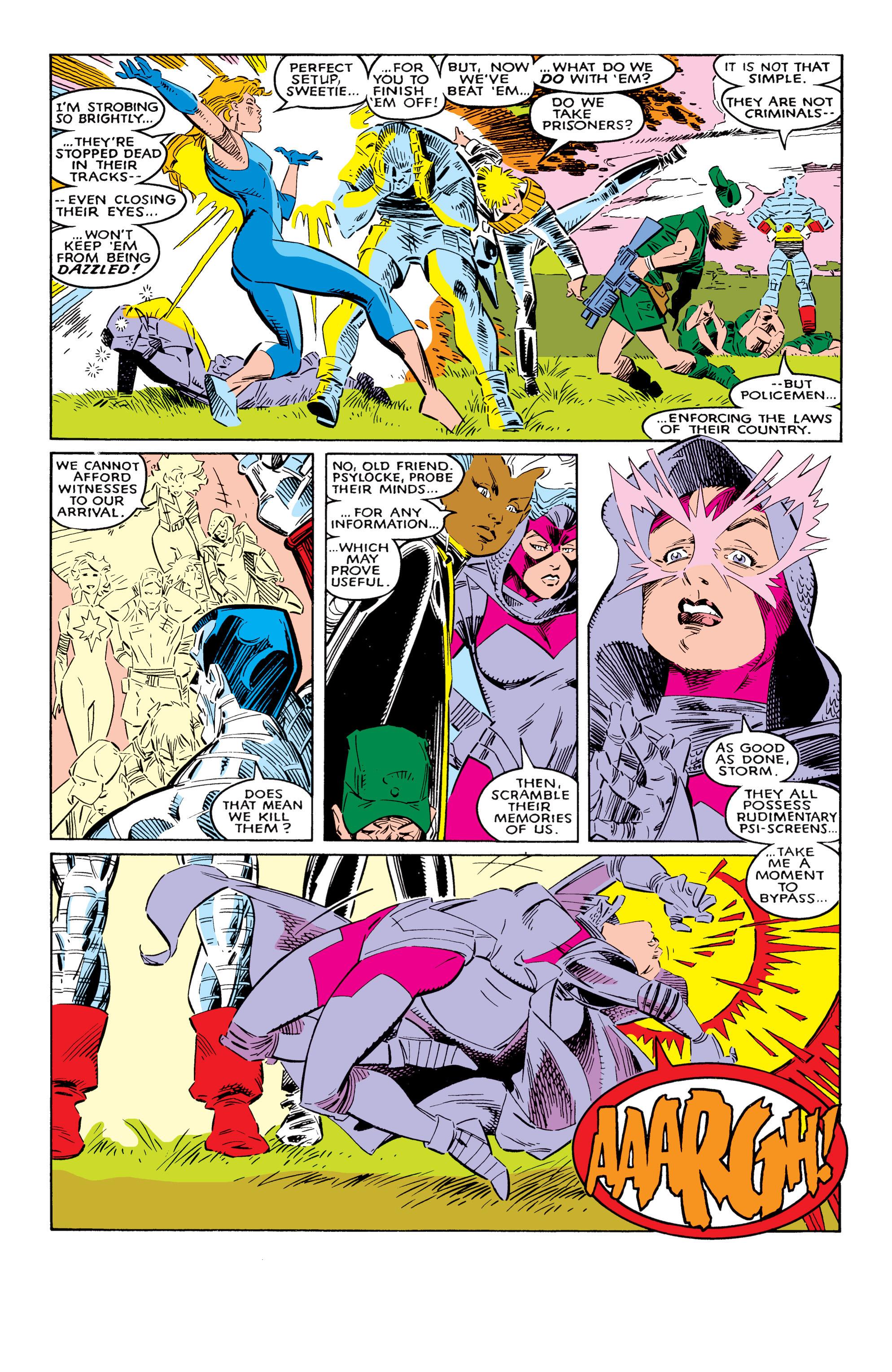 Read online Uncanny X-Men (1963) comic -  Issue #237 - 18