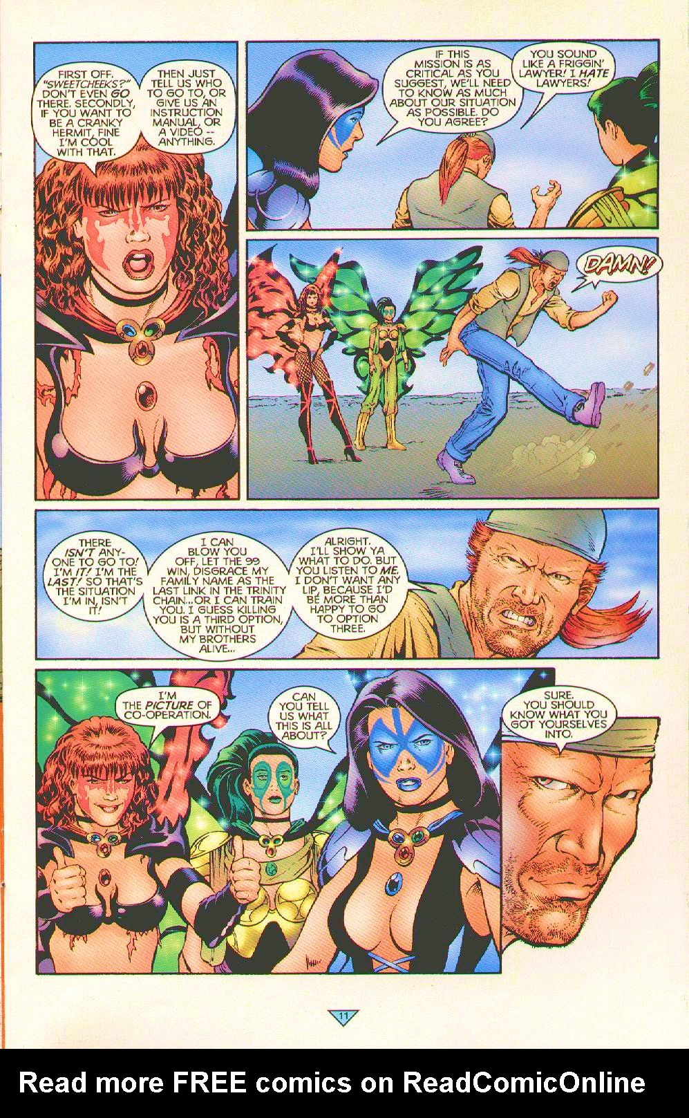Read online Trinity Angels comic -  Issue #5 - 9