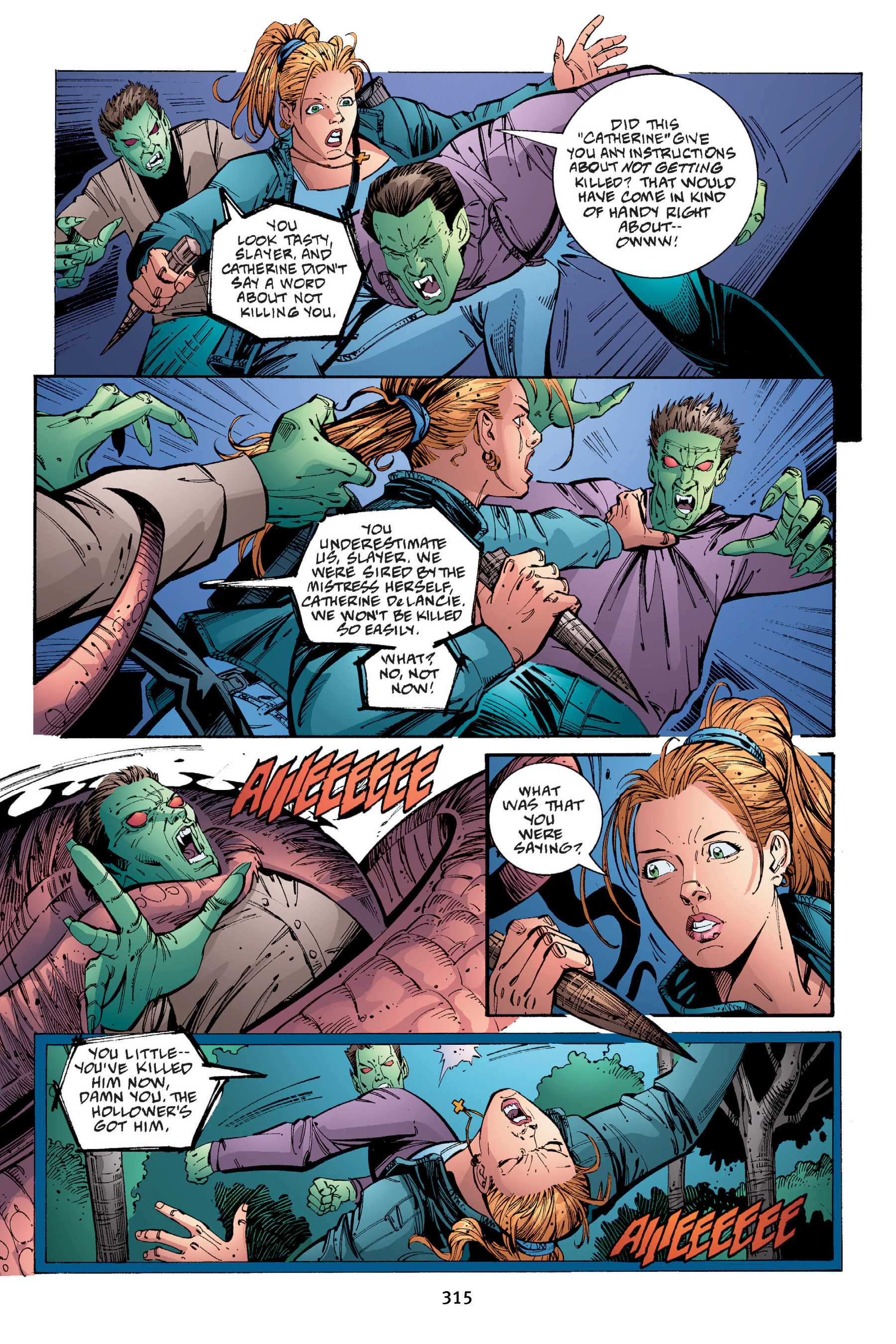 Read online Buffy the Vampire Slayer: Omnibus comic -  Issue # TPB 4 - 312