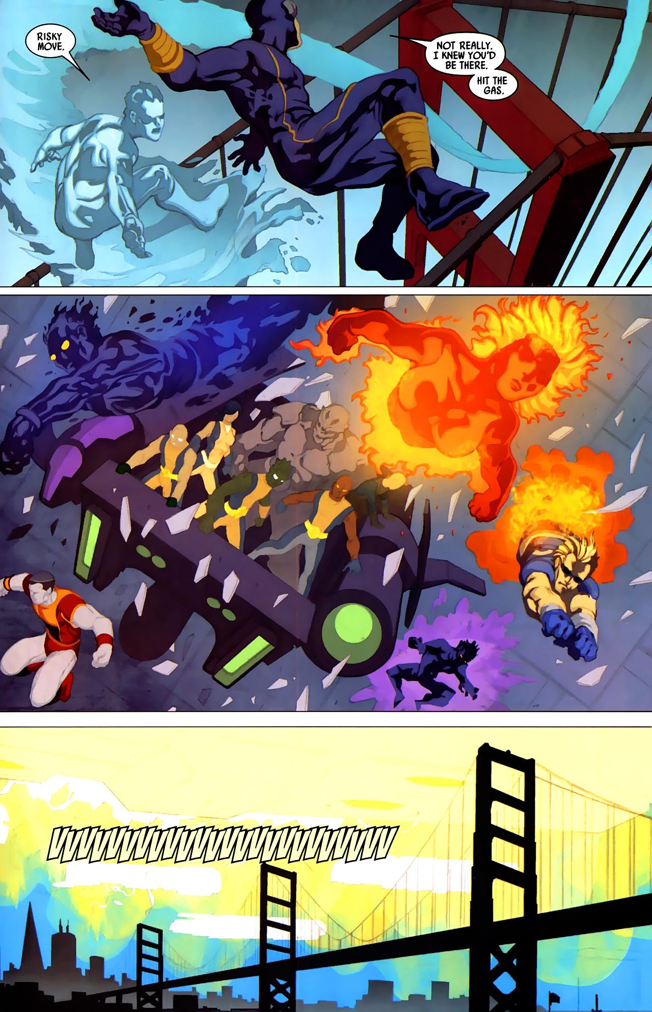 Read online Secret Invasion: X-Men comic -  Issue #4 - 22