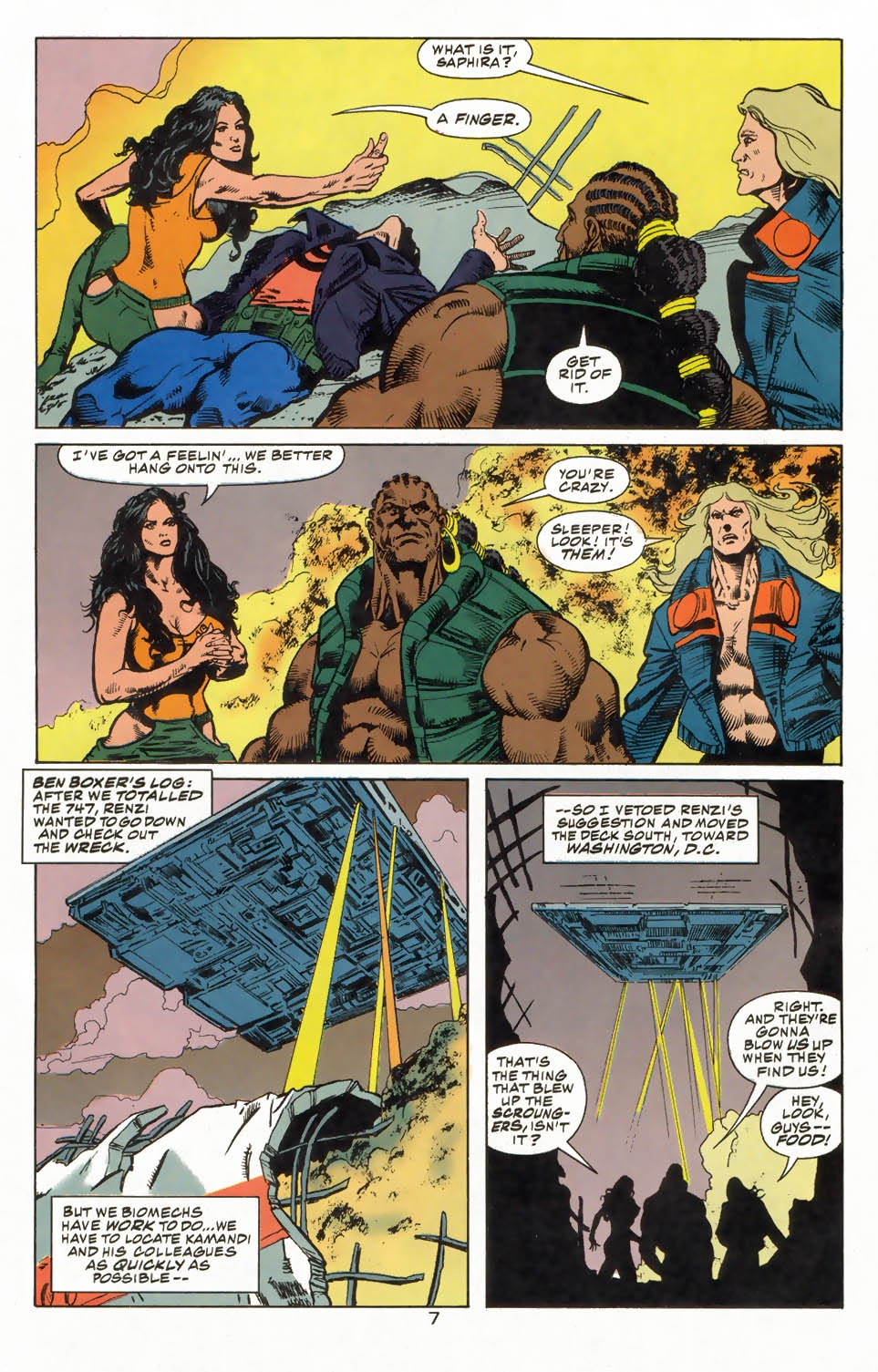 Read online Kamandi: At Earth's End comic -  Issue #3 - 9
