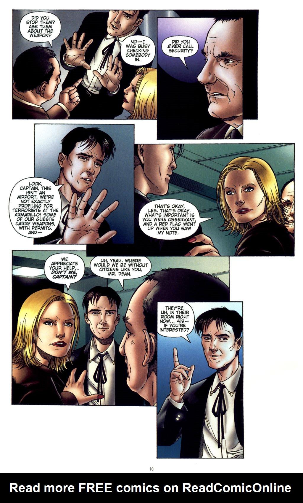 Read online CSI: Crime Scene Investigation: Bad Rap comic -  Issue #4 - 11