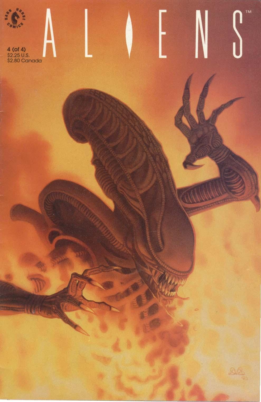 Read online Aliens (1989) comic -  Issue #4 - 1