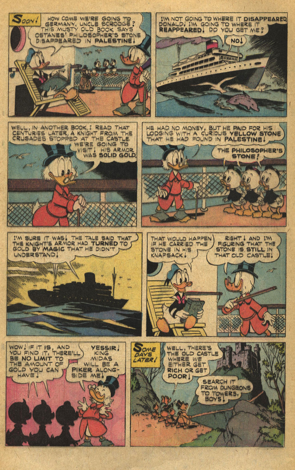 Read online Uncle Scrooge (1953) comic -  Issue #132 - 5