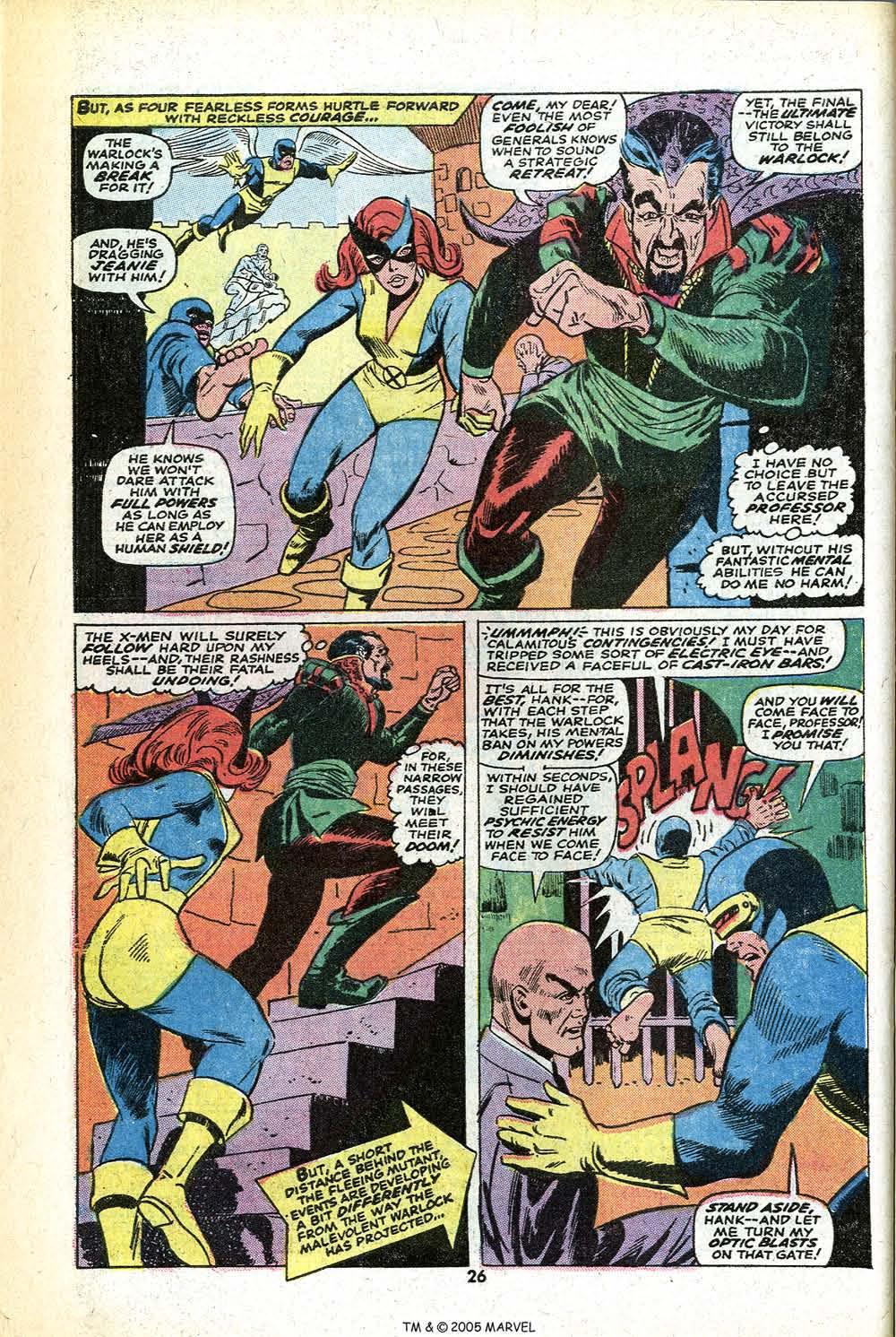 Read online Uncanny X-Men (1963) comic -  Issue #78 - 28