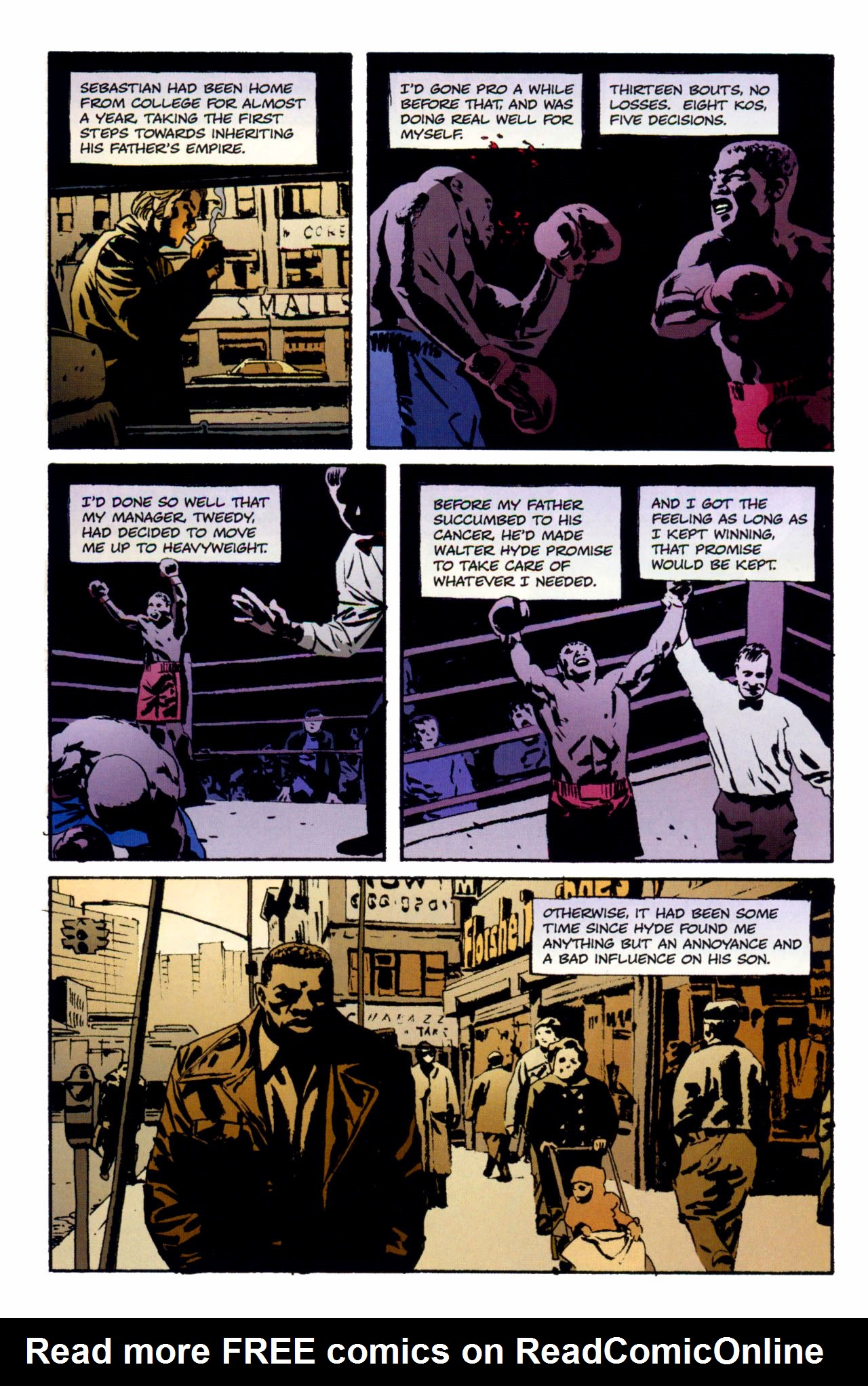 Read online Criminal (2008) comic -  Issue #1 - 9